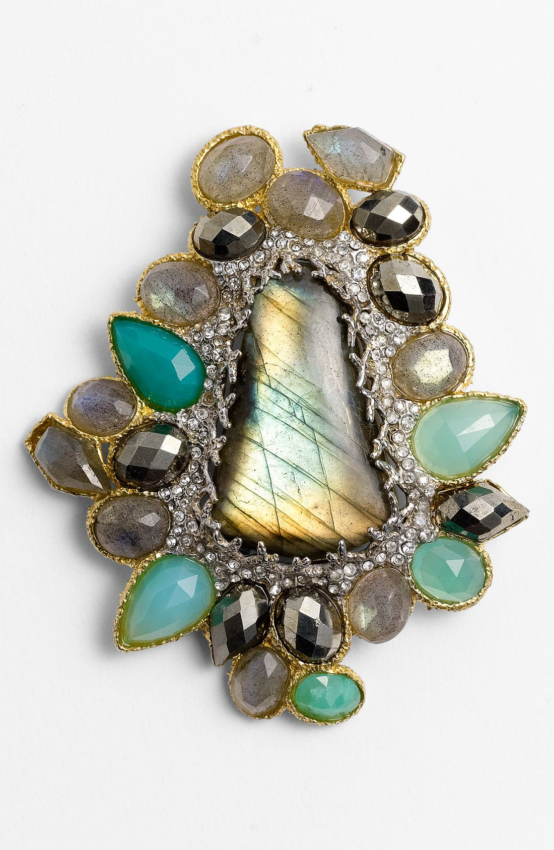Alternate Image 1 Selected - Alexis Bittar 'Elements - Siyabona' Mosaic Statement Pin (Nordstrom Exclusive)