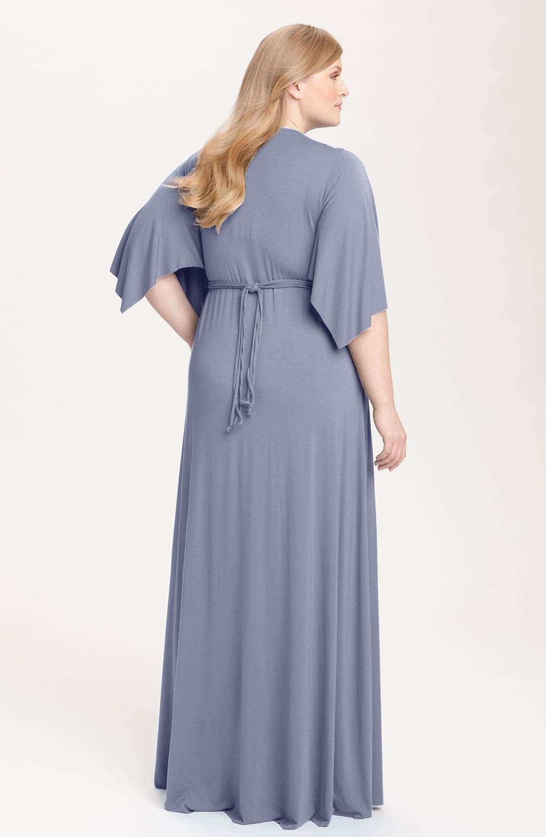 Alternate Image 2  - Rachel Pally White Label Long Caftan Dress (Plus)