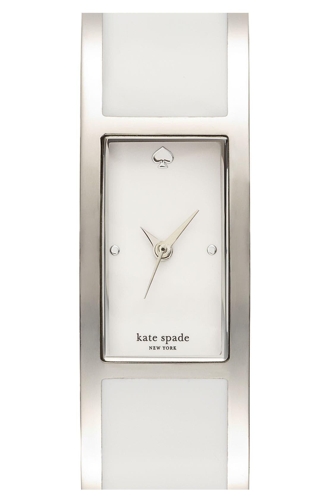 Alternate Image 1 Selected - kate spade new york 'carousel' bangle watch, 15mm x 16mm
