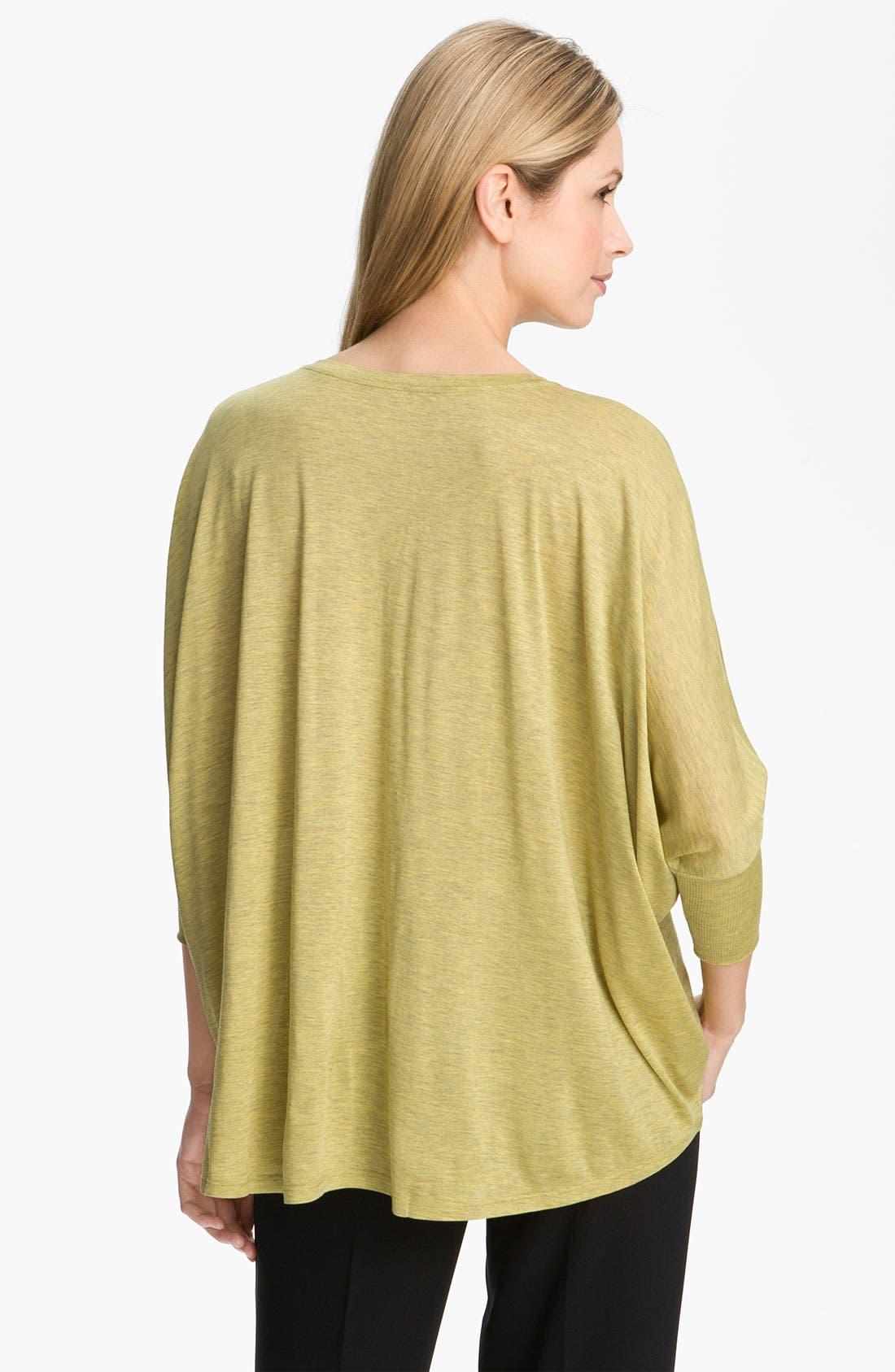 Alternate Image 2  - Eileen Fisher Silk & Cotton Jersey Top