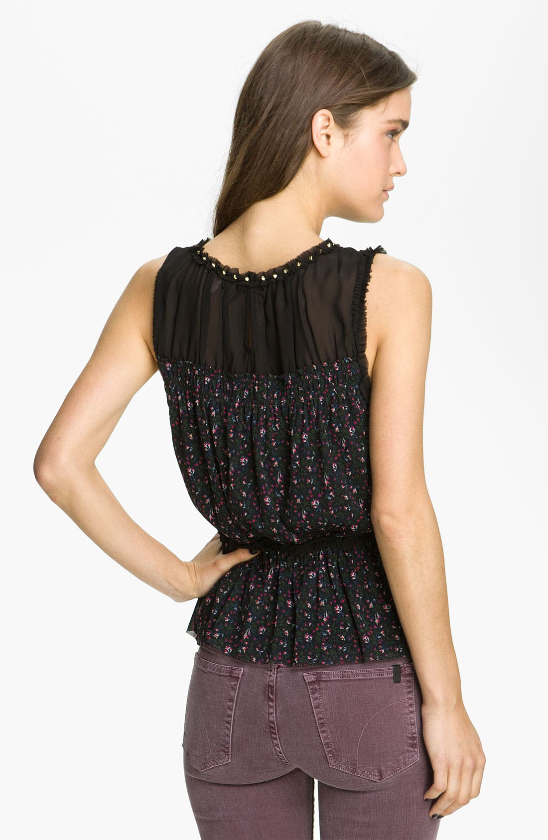 Alternate Image 2  - Juicy Couture Print Sleeveless Top