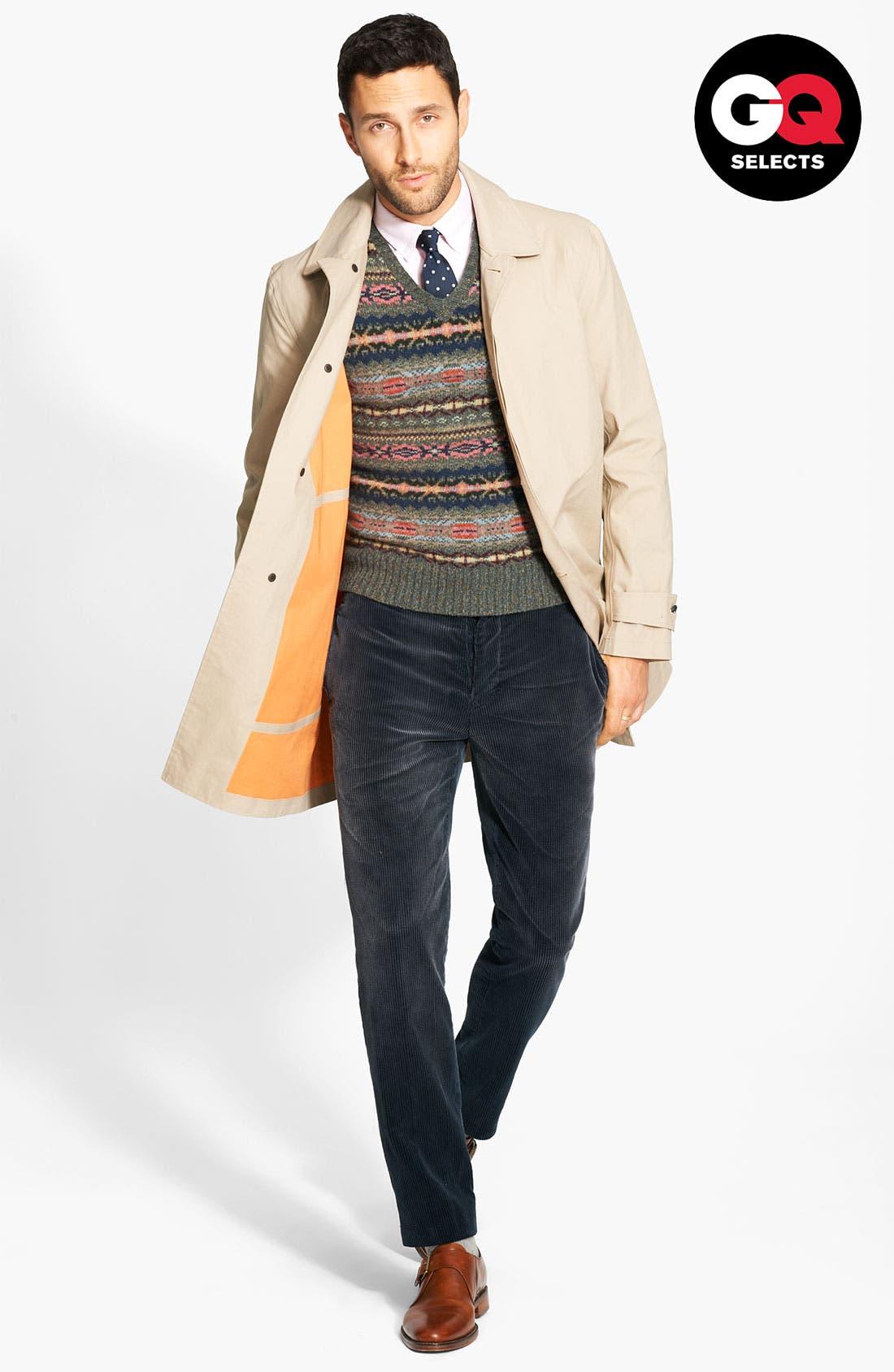 Alternate Image 1 Selected - Jack Spade Bonded Raincoat