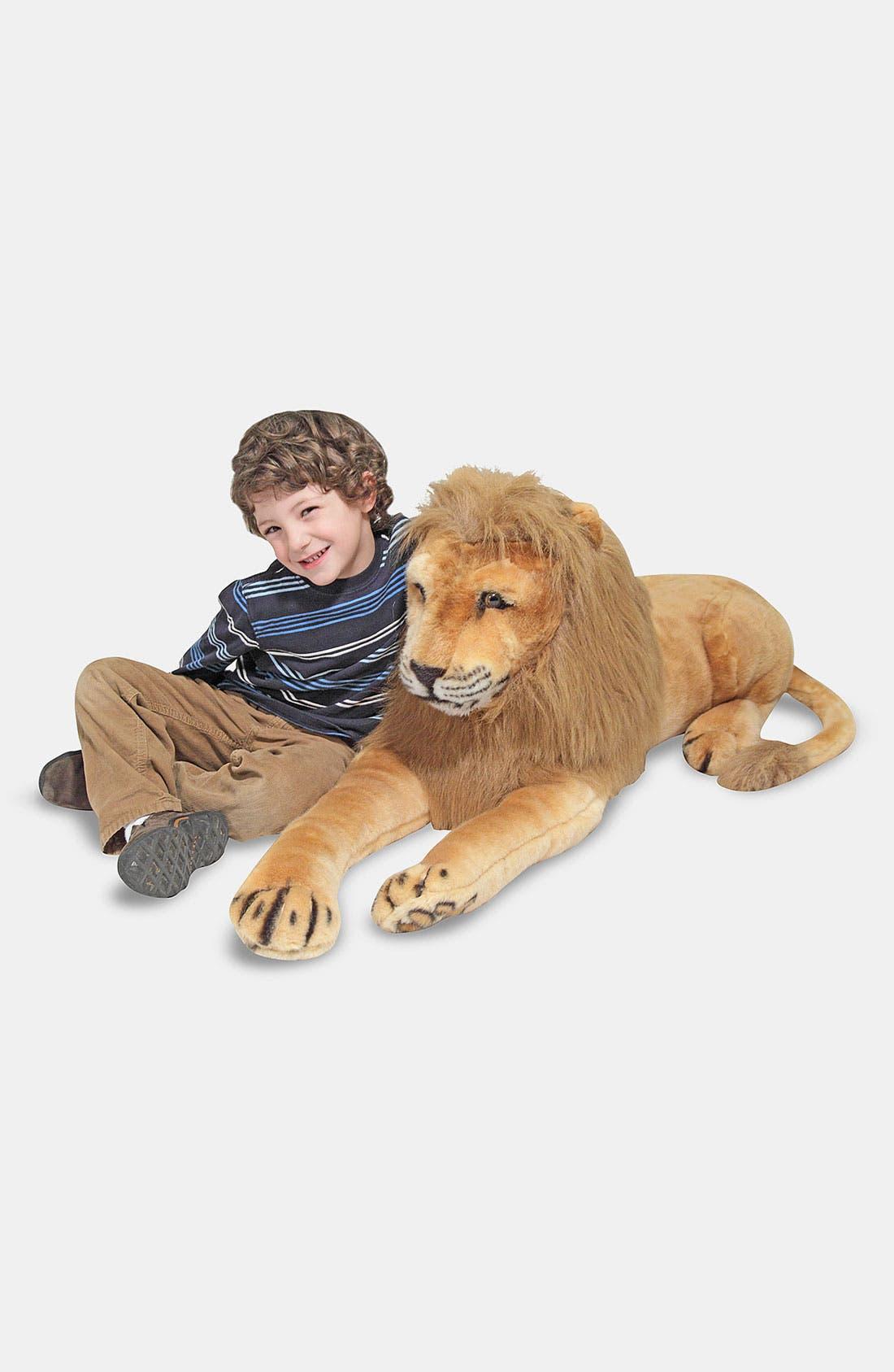 Main Image - Melissa & Doug Oversized Plush Stuffed Lion