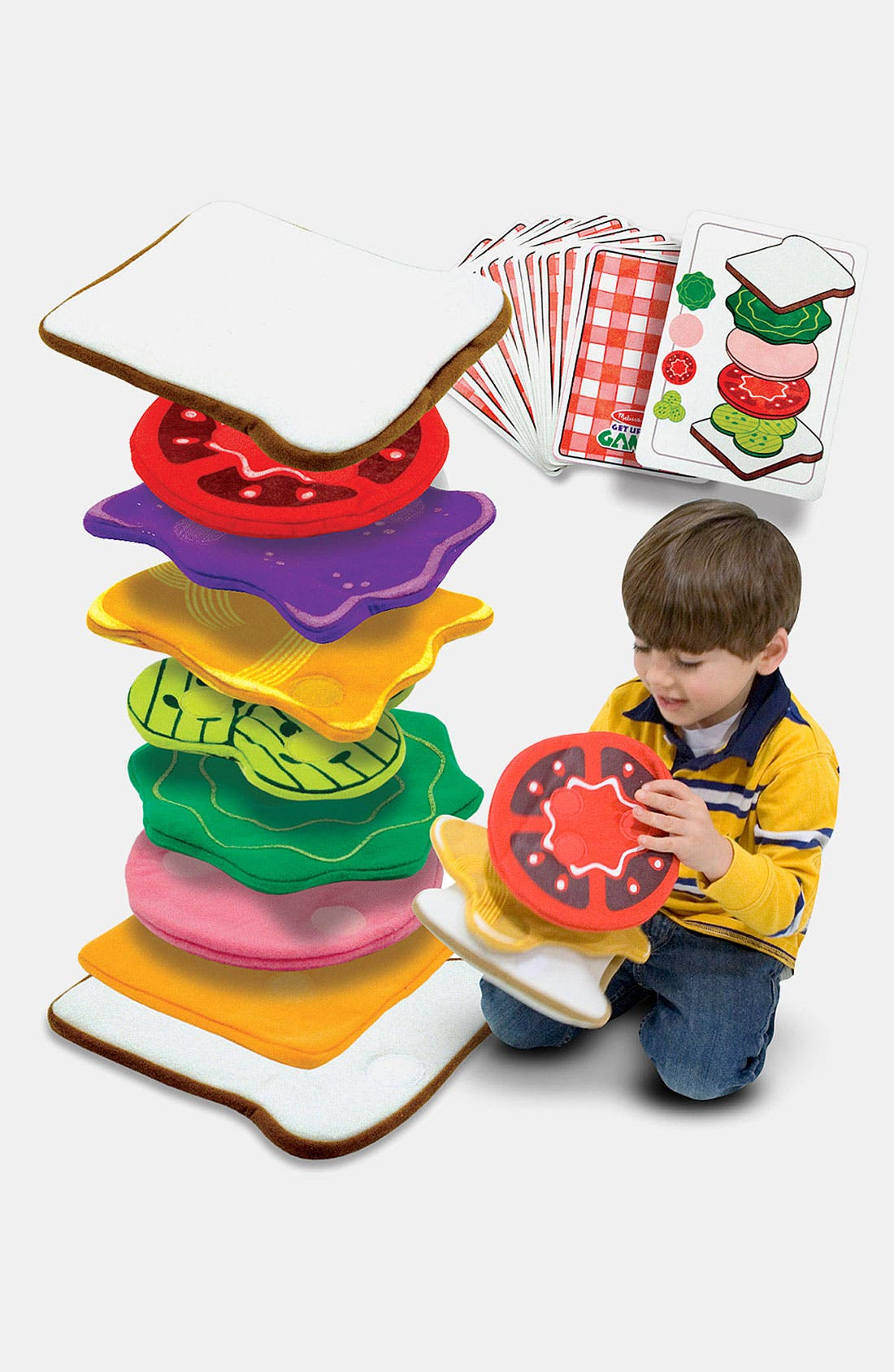 Alternate Image 1 Selected - Melissa & Doug Sandwich Stacking Games