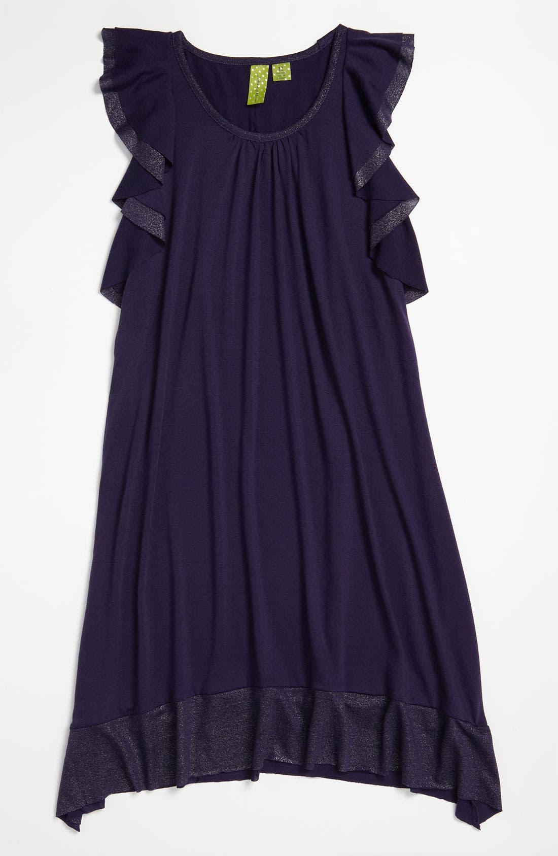 Alternate Image 1 Selected - Jonathan Martin Flutter Dress (Big Girls)