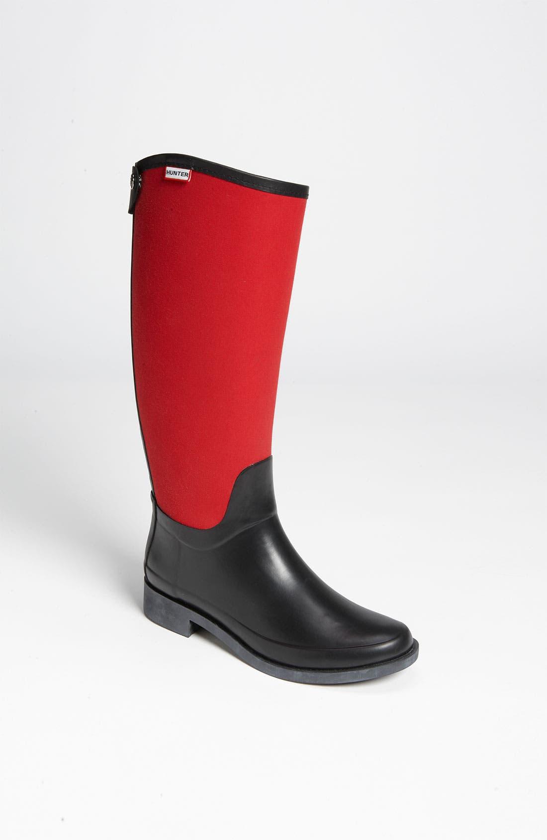 Main Image - Hunter 'Bessy' Rain Boot (Women) (Nordstrom Exclusive)