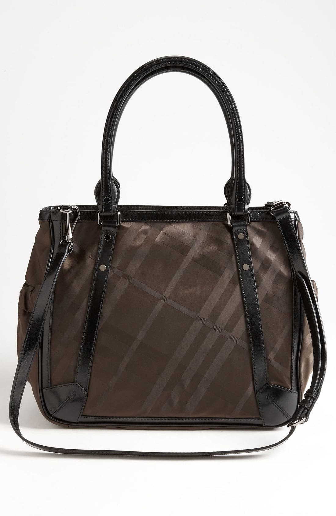 Alternate Image 4  - Burberry Check Print Diaper Bag