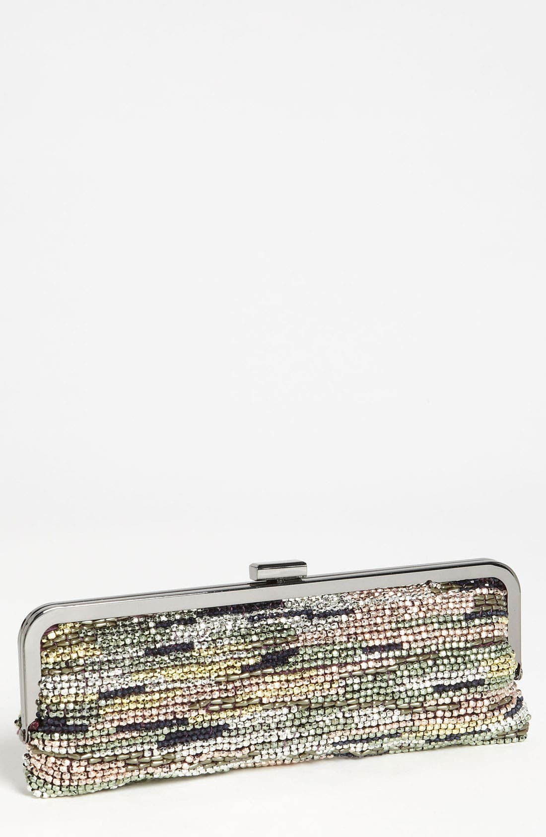 Main Image - Nina Beaded Frame Clutch