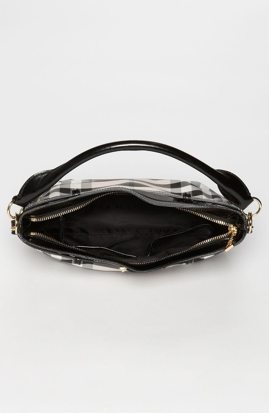 Alternate Image 3  - Burberry Prorsum 'Charcoal Check' Crossbody Bag
