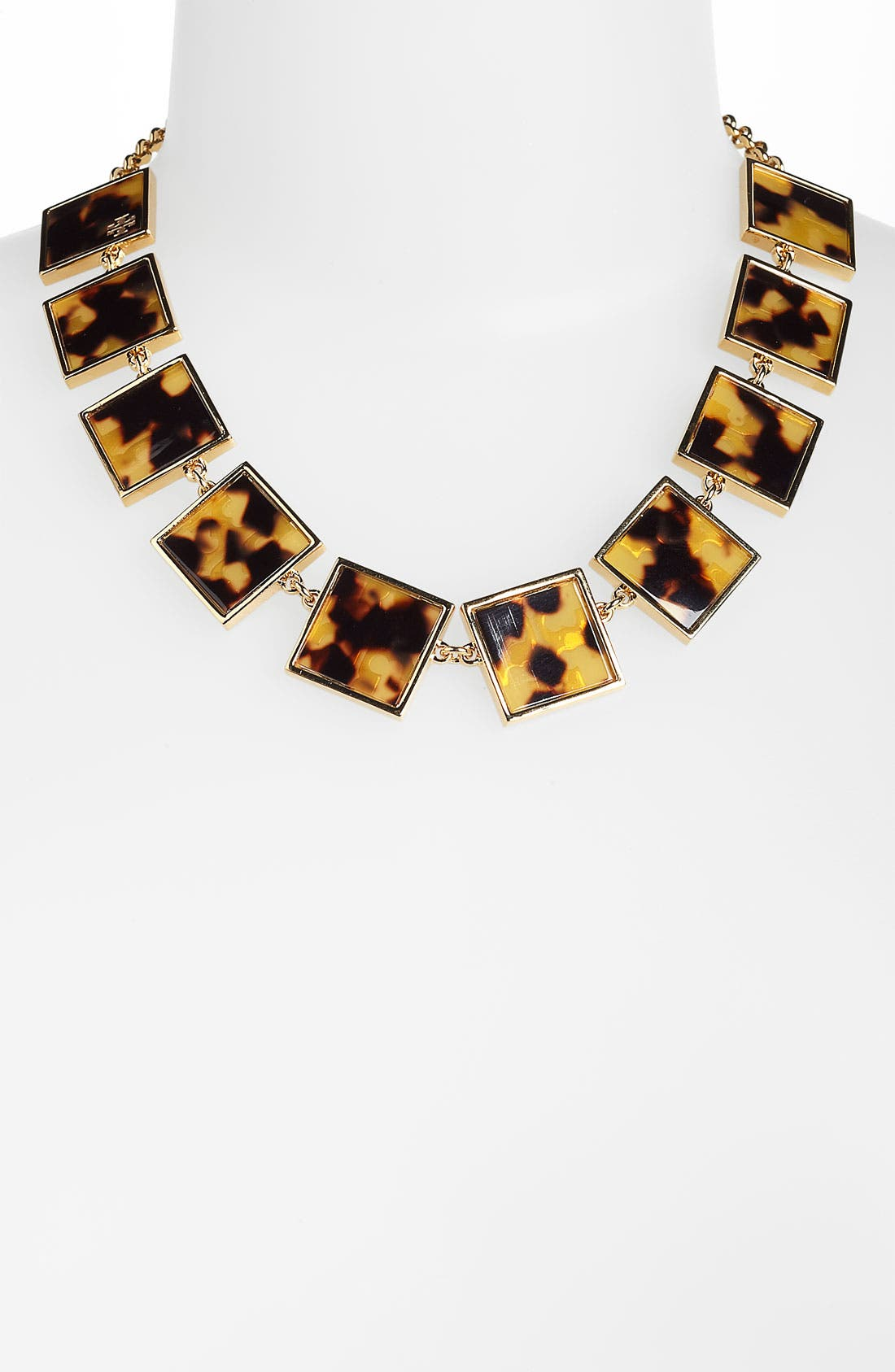 Main Image - Tory Burch 'Tomi' Square Collar Necklace