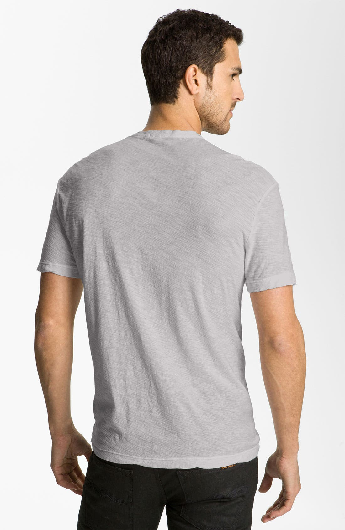 Alternate Image 2  - James Perse Classic Slub Crewneck Pocket T-Shirt