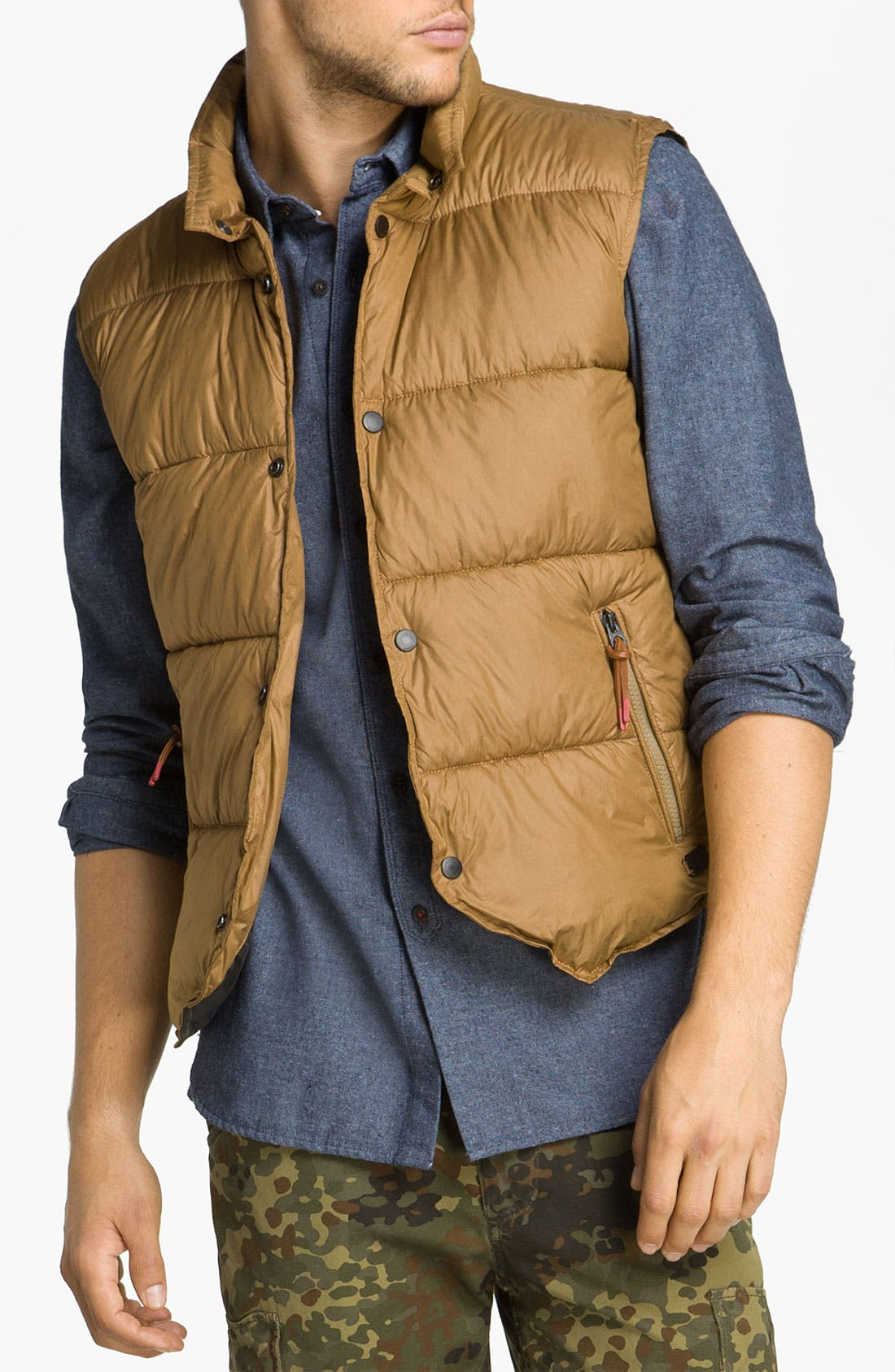 Alternate Image 1 Selected - DIESEL® 'Warwick' Puffer Vest