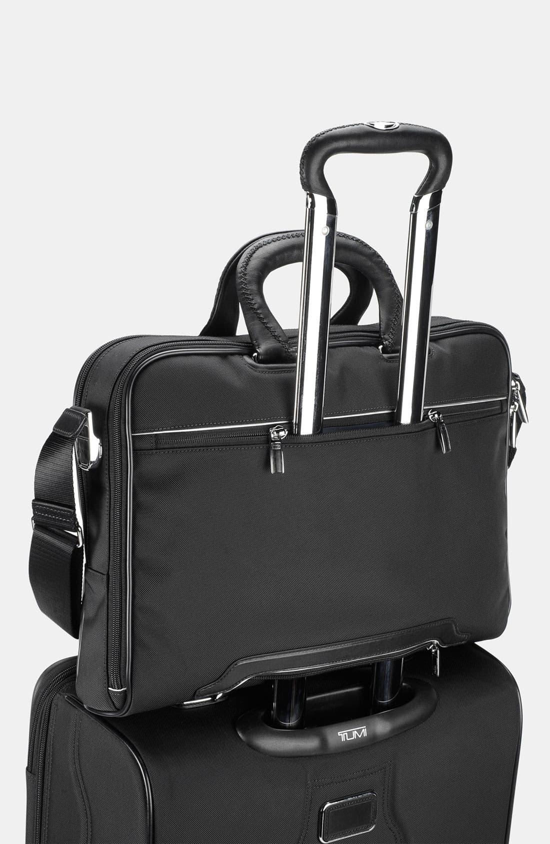 Alternate Image 5  - Tumi 'Arrive - Narita' Slim Leather Briefcase