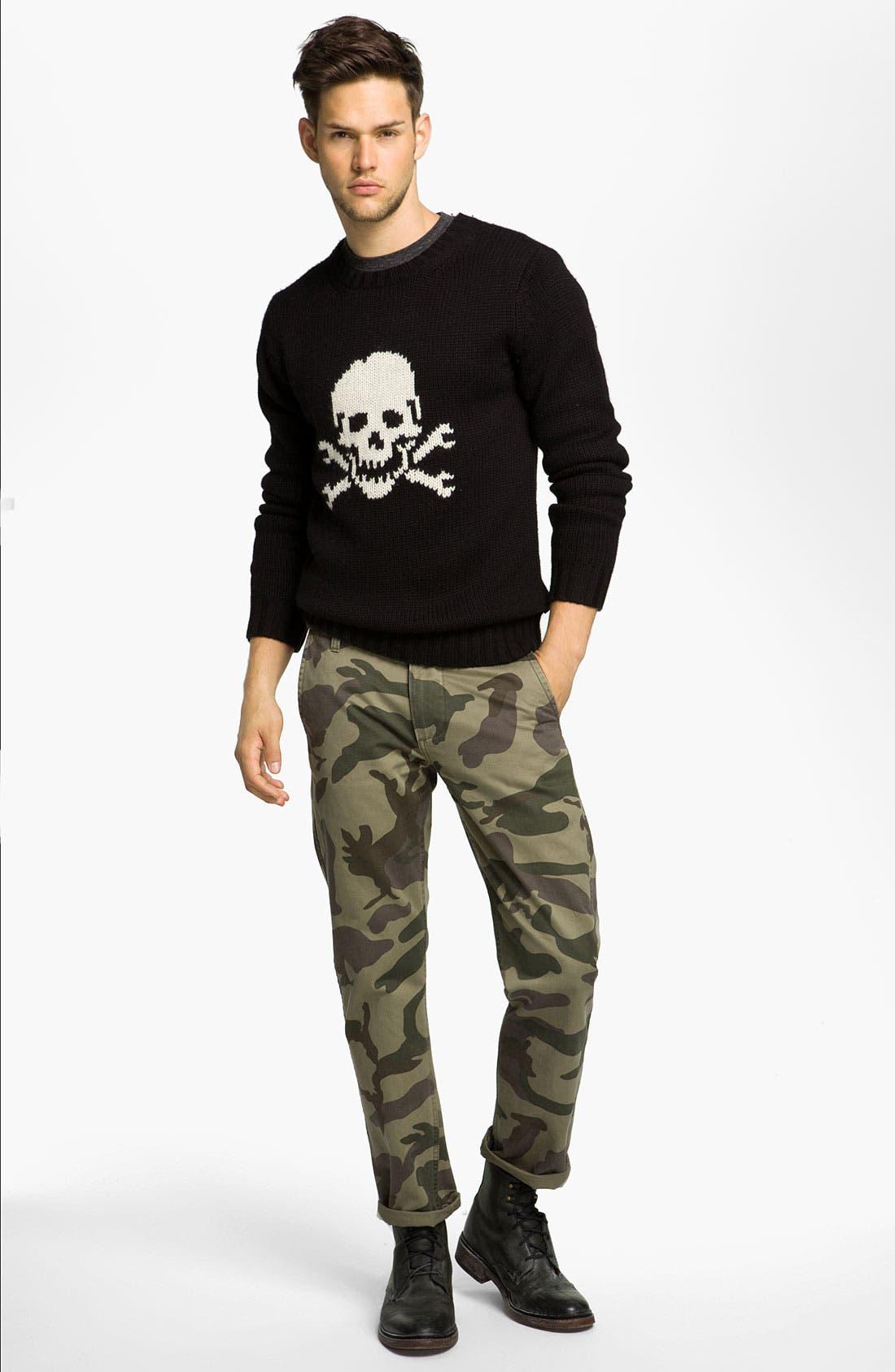 Alternate Image 4  - Dockers® 'Alpha Khaki' Slim Straight Leg Chinos