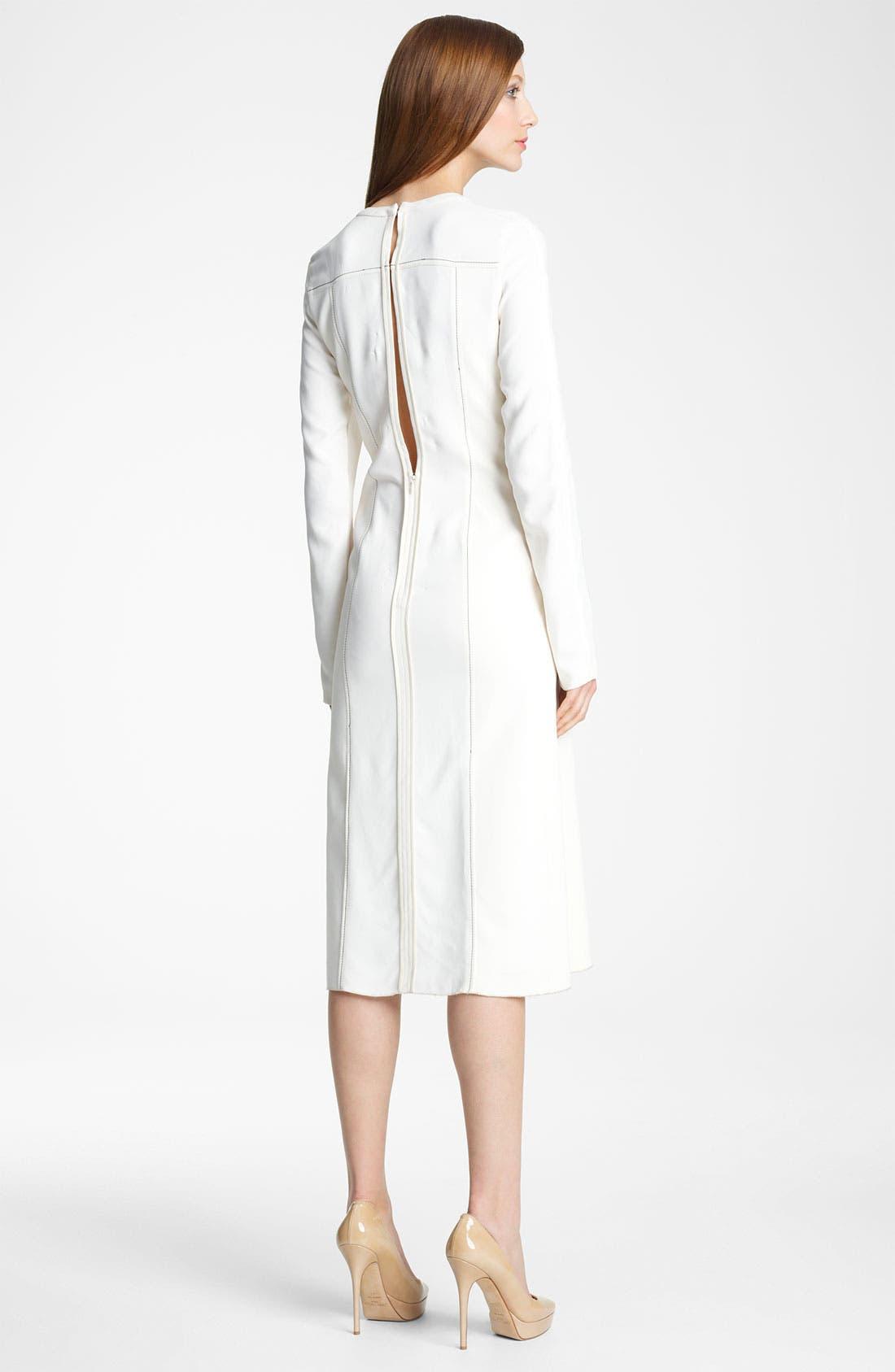 Alternate Image 2  - Reed Krakoff Contrast Stitch Dress