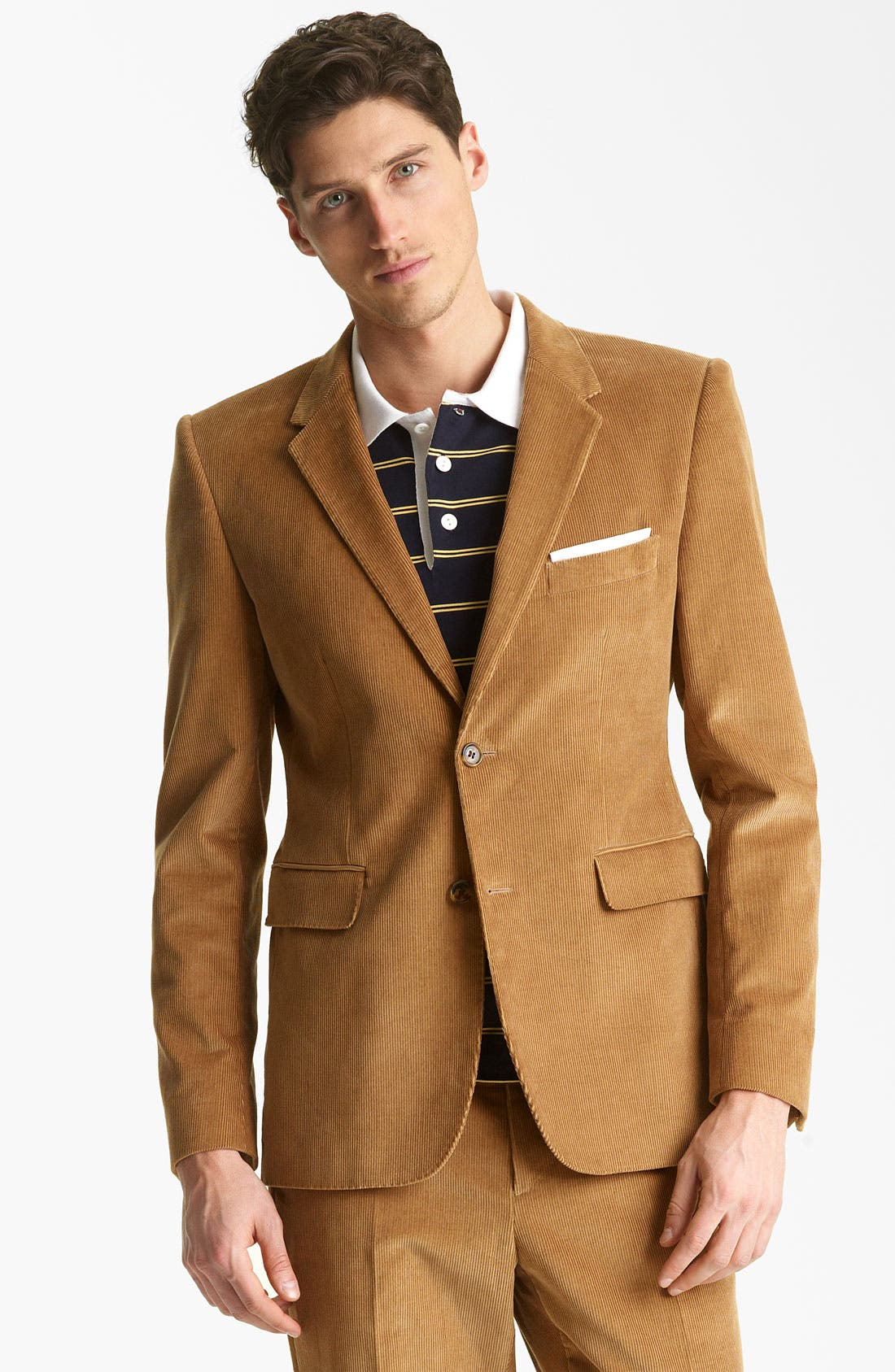 Alternate Image 1 Selected - Shipley & Halmos 'Greene' Corduroy Blazer