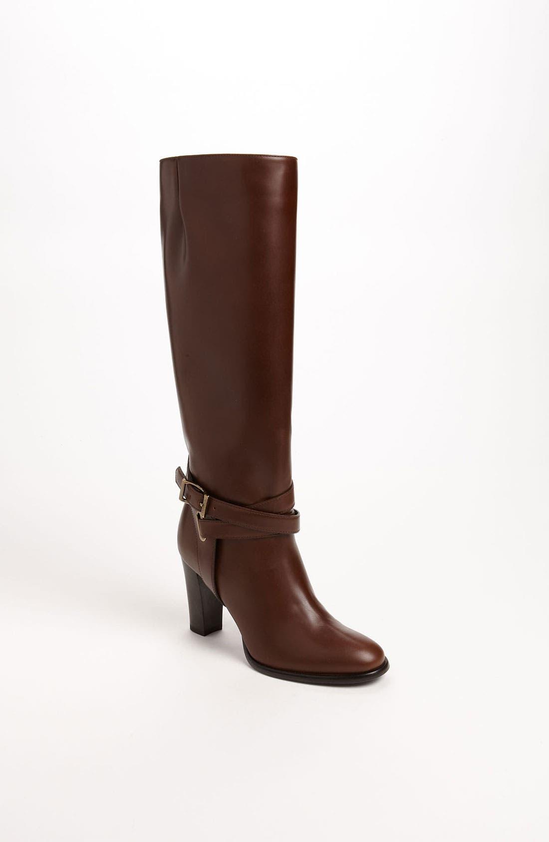 Main Image - Burberry 'Adeline' High Heel Boot