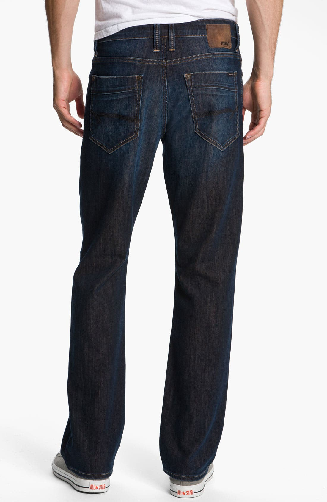Alternate Image 2  - Mavi Jeans 'Matt' Relaxed Fit Jeans (Dark Kensington)