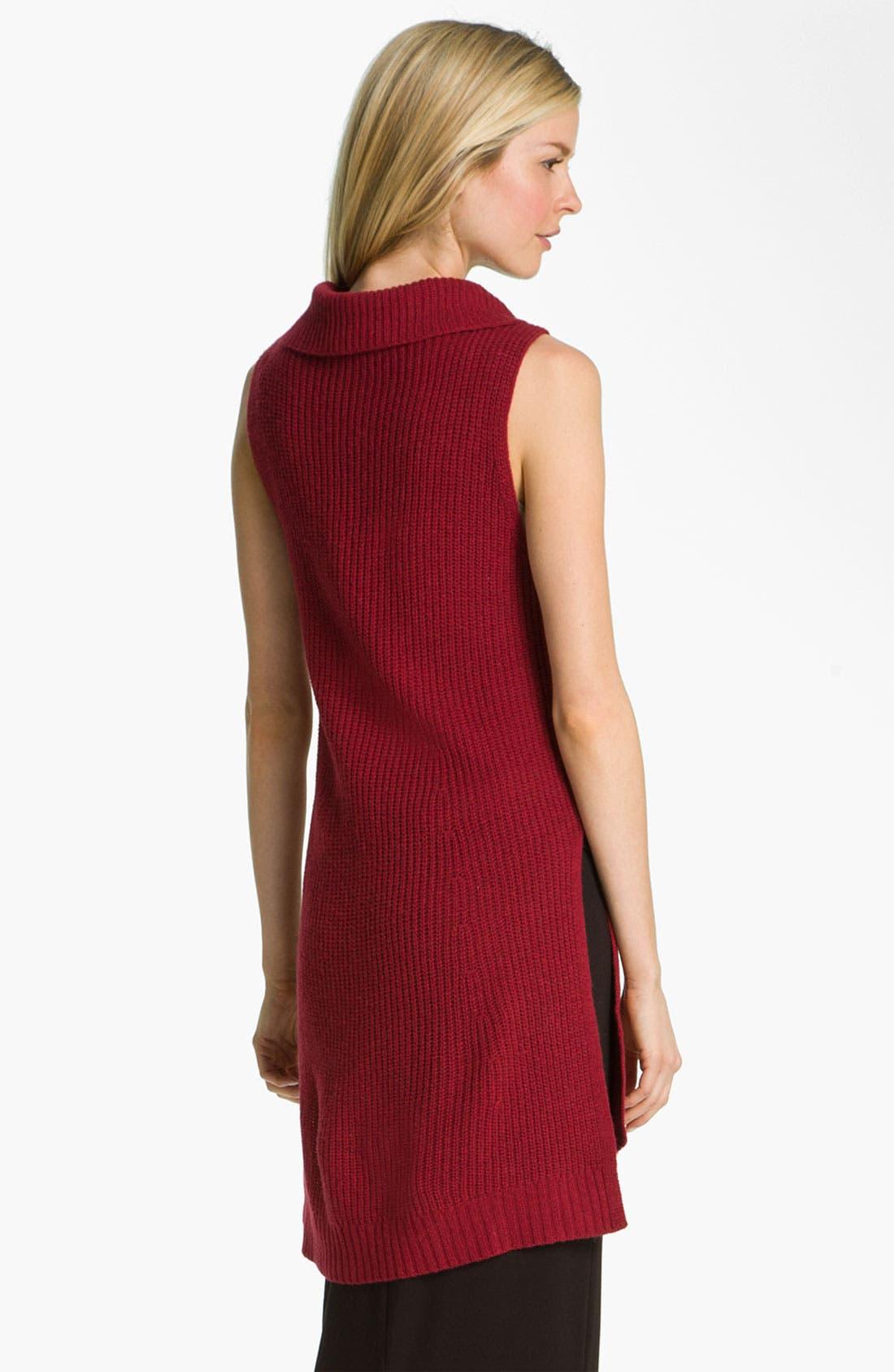 Alternate Image 2  - Eileen Fisher Supersoft Yak Wool Blend Tunic Dress