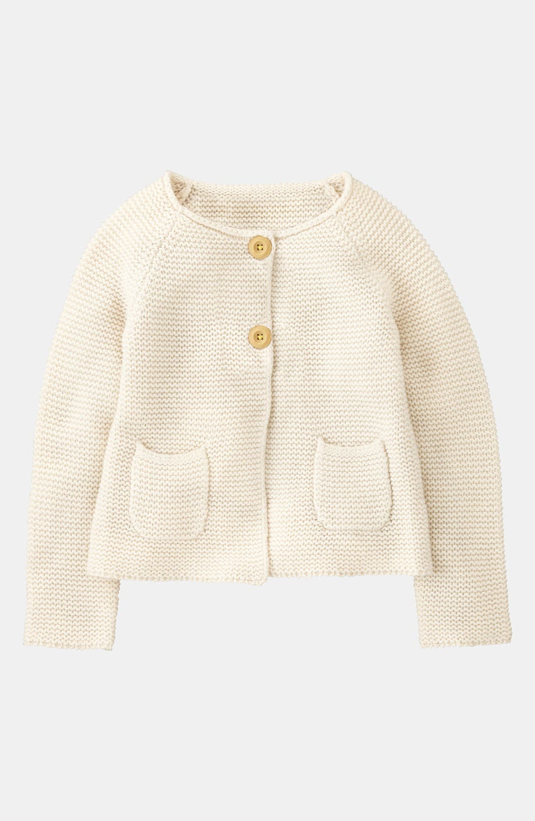 Alternate Image 1 Selected - Mini Boden Textured Cardigan (Toddler)