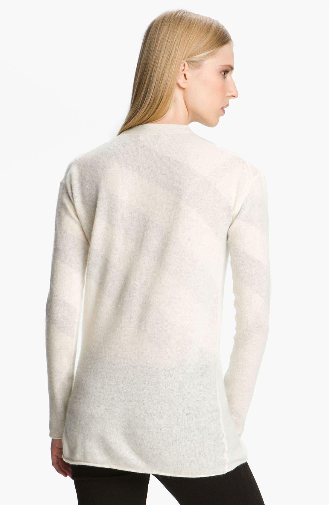 Alternate Image 3  - Burberry Brit Reversible Wool & Cashmere Cardigan