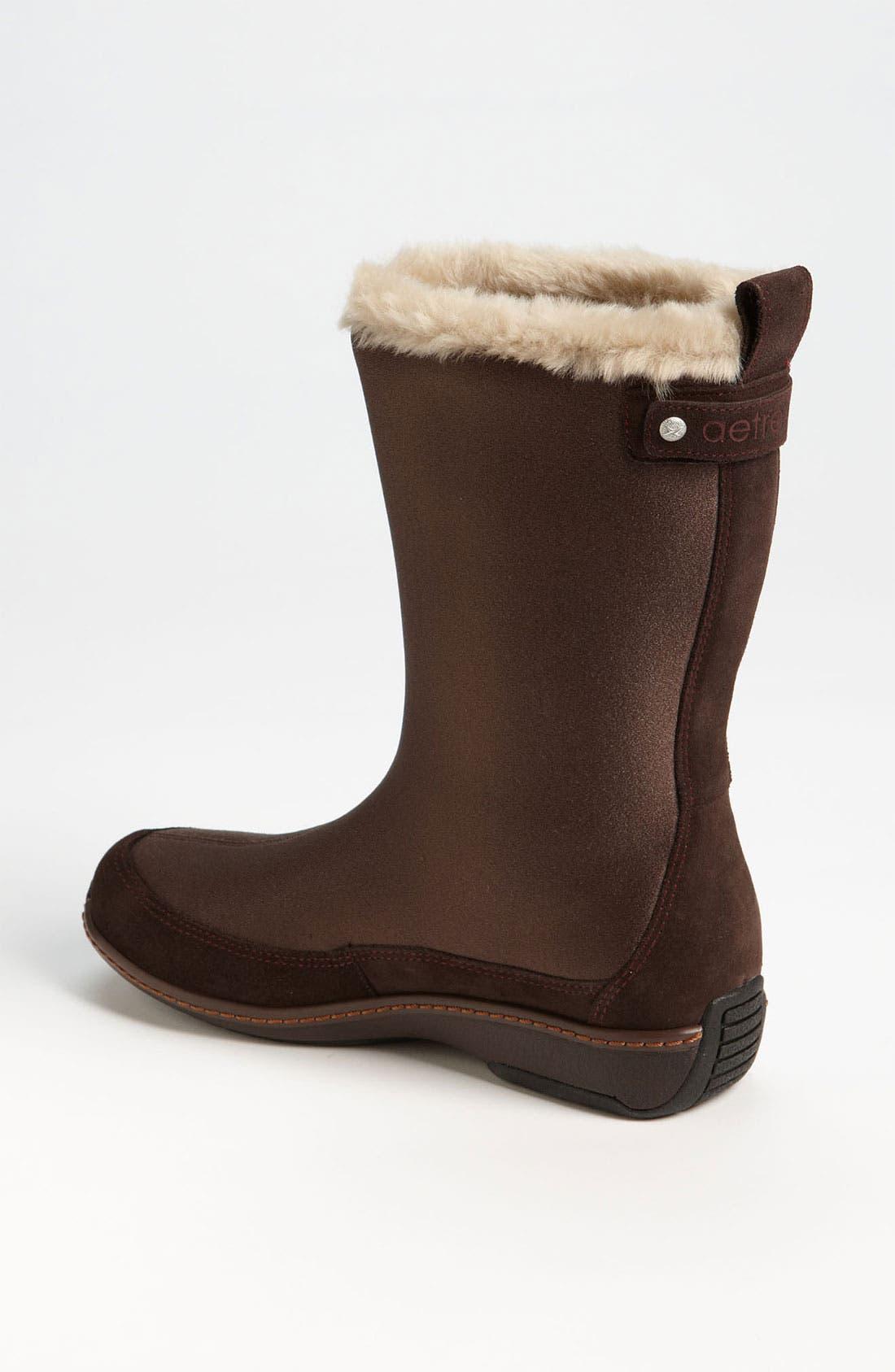 Alternate Image 2  - Aetrex 'Furry' Mid Calf Boot