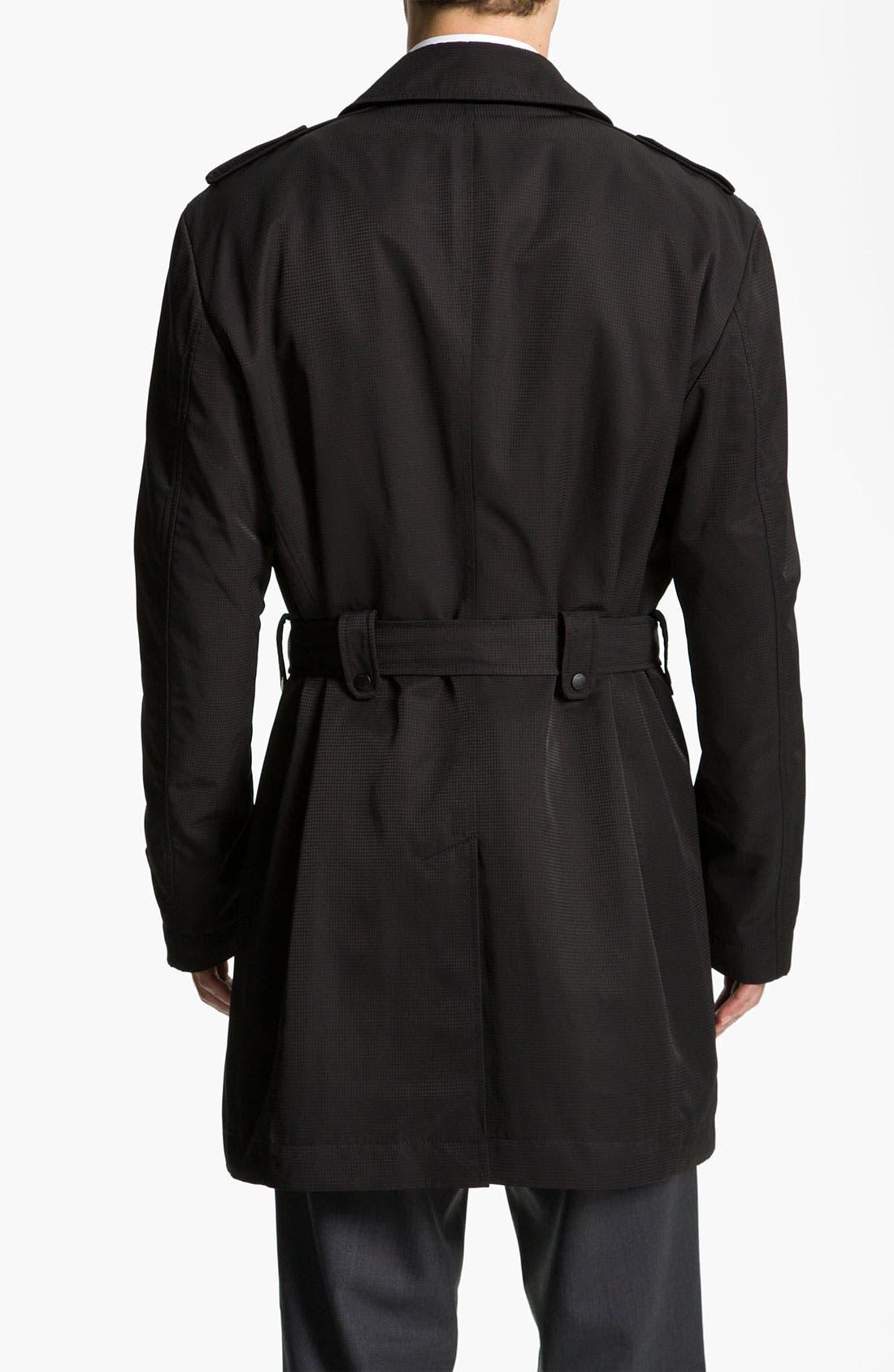 Alternate Image 2  - BOSS Black 'Trait' Raincoat