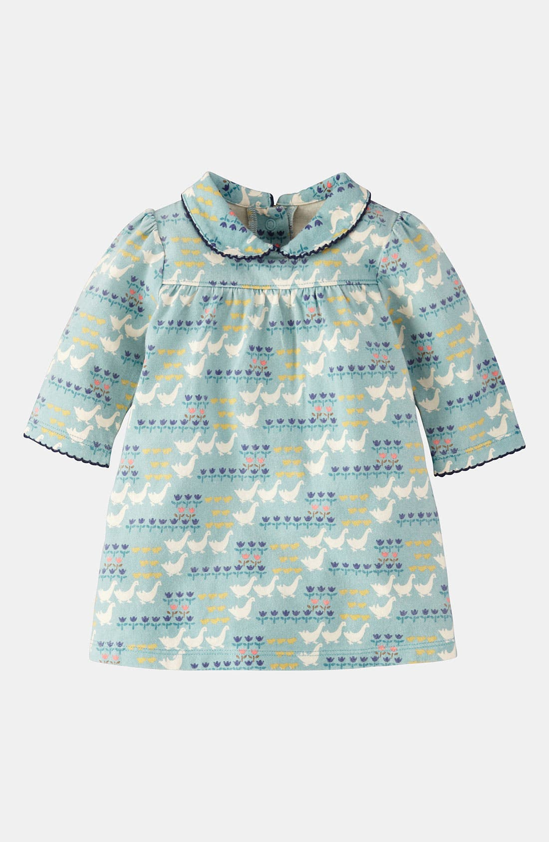 Alternate Image 1 Selected - Mini Boden 'Pretty' Jersey Dress (Infant)