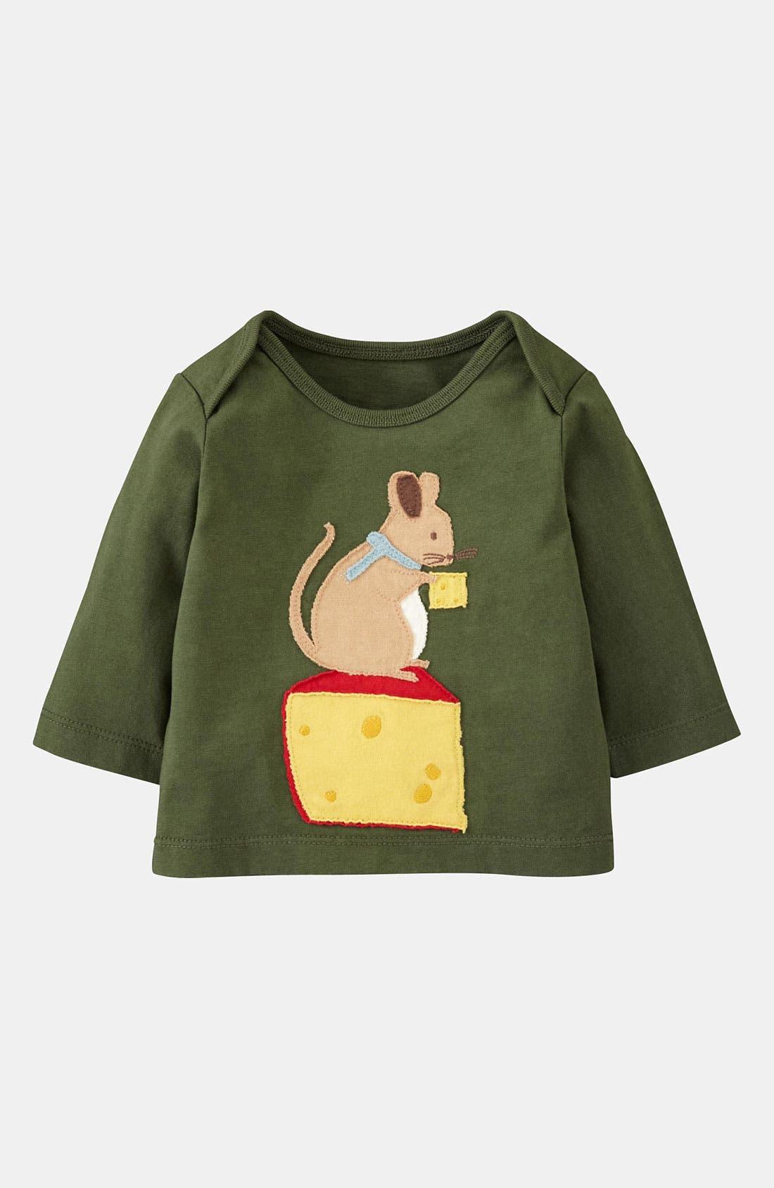 Alternate Image 1 Selected - Mini Boden 'Garden Friends' T-Shirt (Infant)