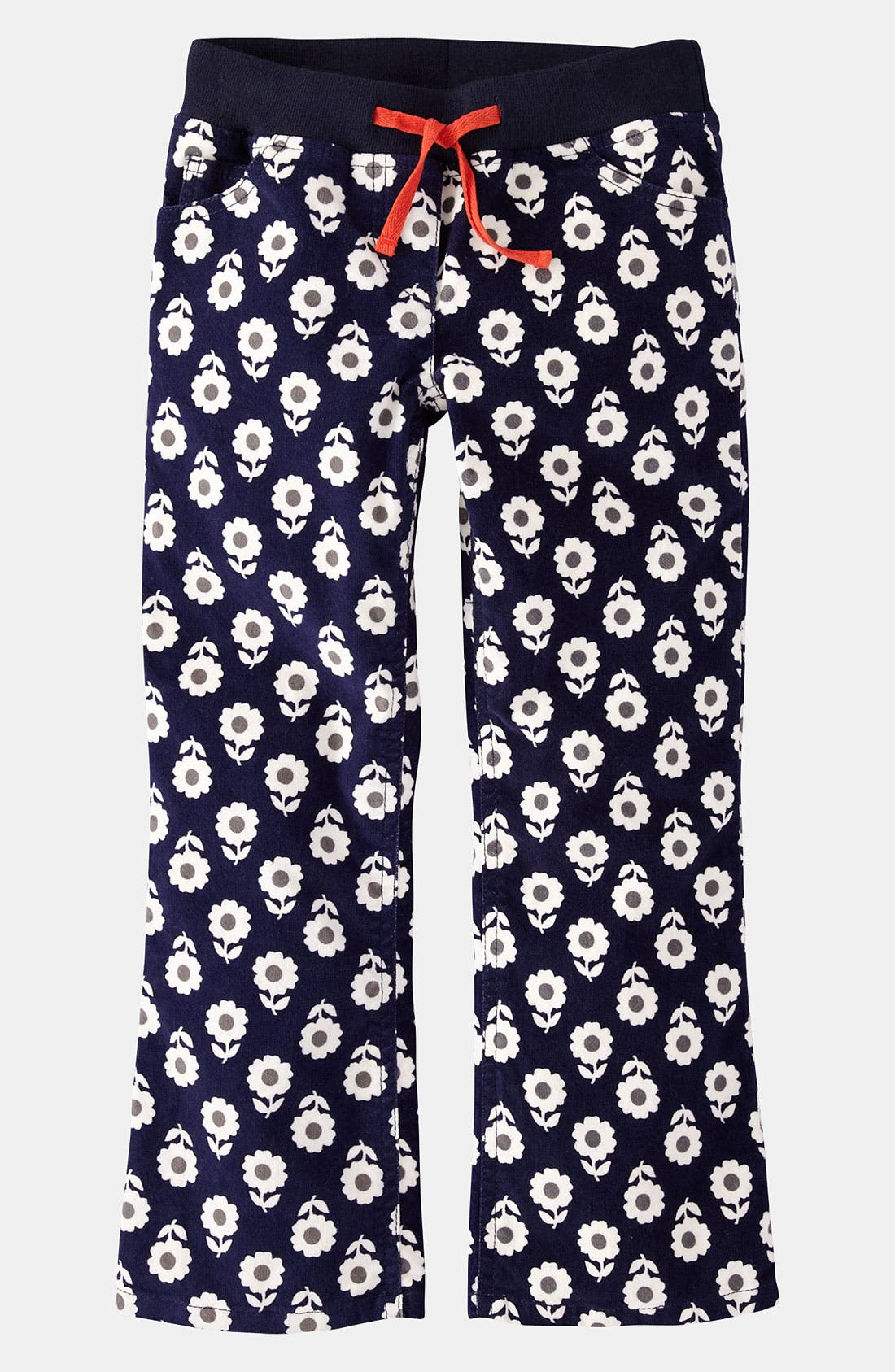 Main Image - Mini Boden Ribbed Waist Pants (Toddler, Little Girls & Big Girls)
