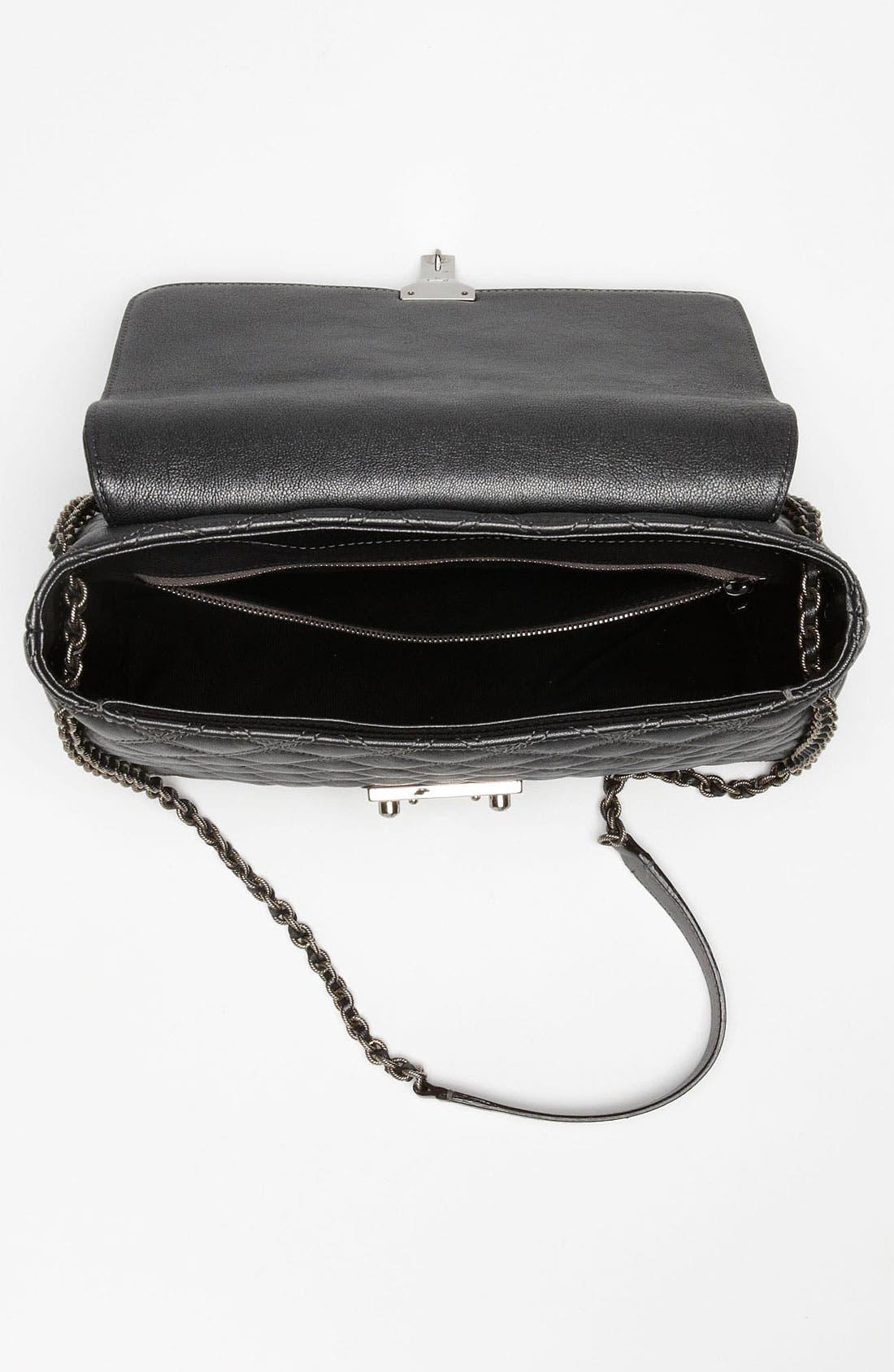 Alternate Image 3  - MARC JACOBS 'Baroque XL Single' Leather Shoulder Bag