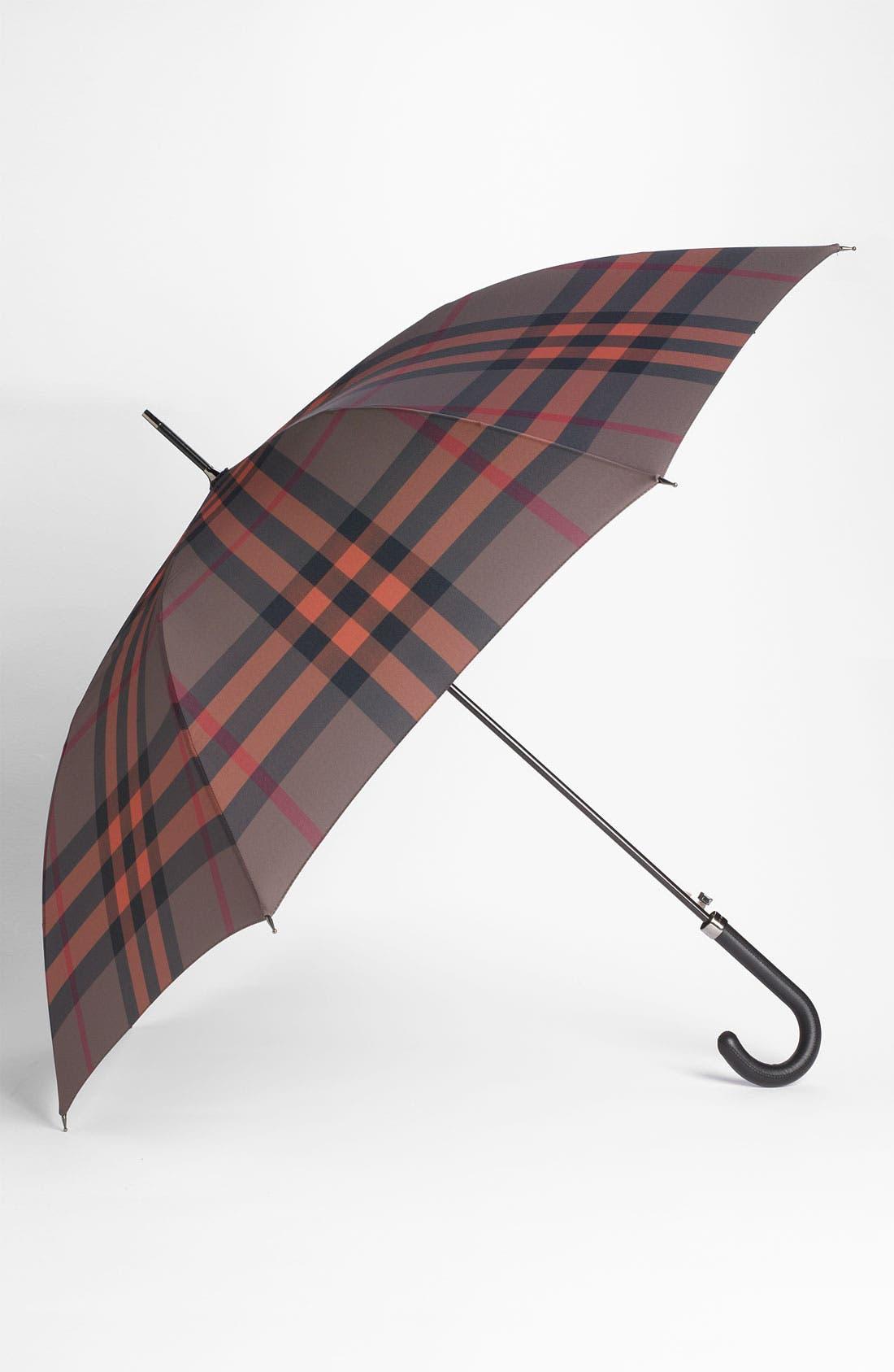 Alternate Image 1 Selected - Burberry London Check Umbrella