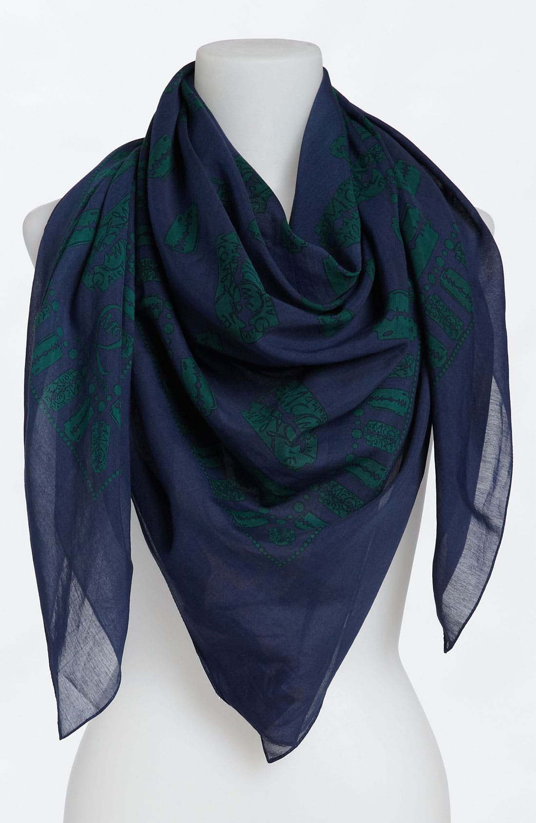 Alternate Image 1 Selected - McQ by Alexander McQueen 'Razor Blade' Scarf
