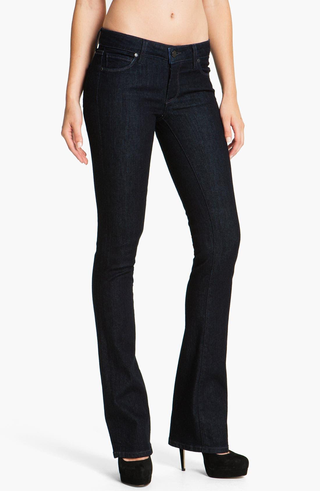 Main Image - Paige Denim 'Manhattan' Baby Bootcut Jeans (Darkness)