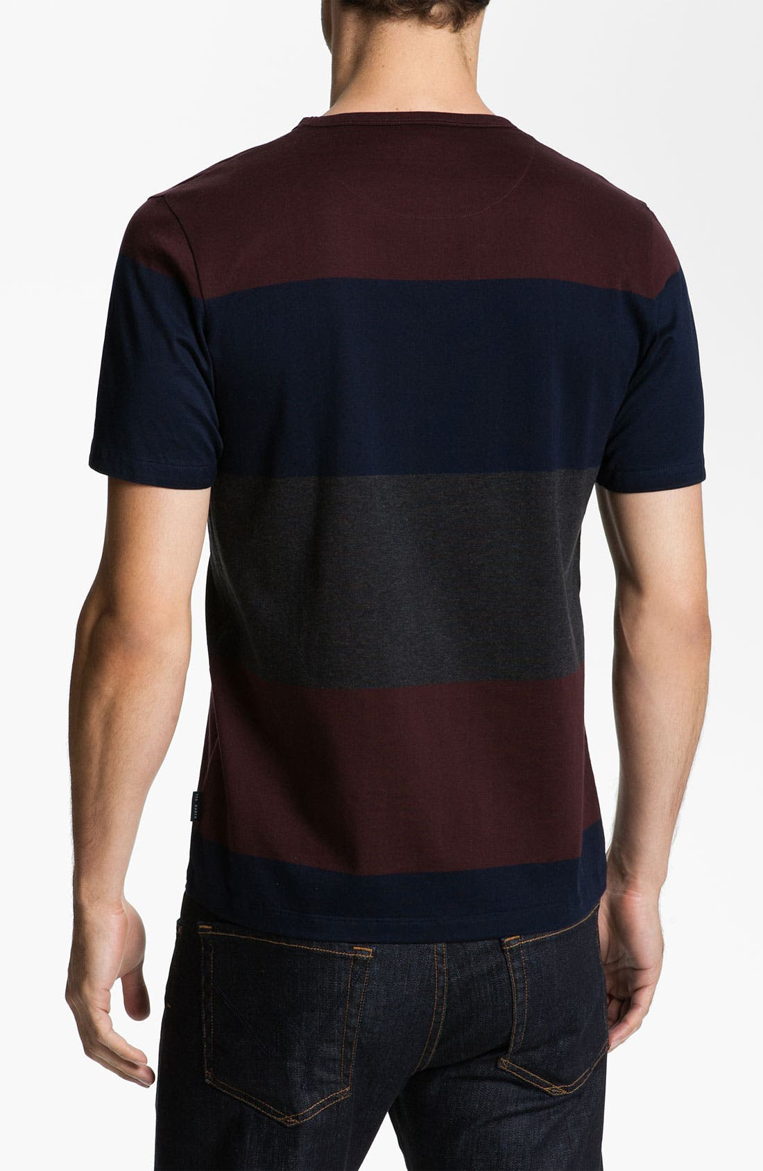 Alternate Image 2  - Ted Baker London 'Bigstripe' Crewneck T-Shirt