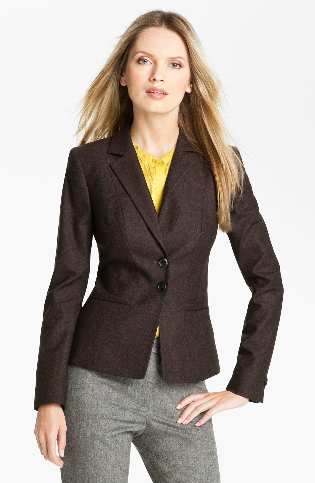 Alternate Image 1 Selected - Classiques Entier® 'Stella Weave' Jacket