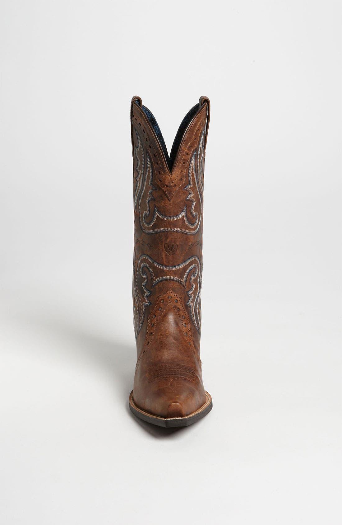Alternate Image 3  - Ariat 'Western Heritage X Toe' Boot