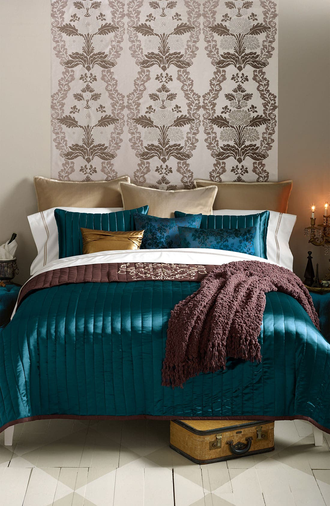 Alternate Image 3  - Blissliving Home 'Maxwell' 300 Thread Count Coverlet Set (Online Only)