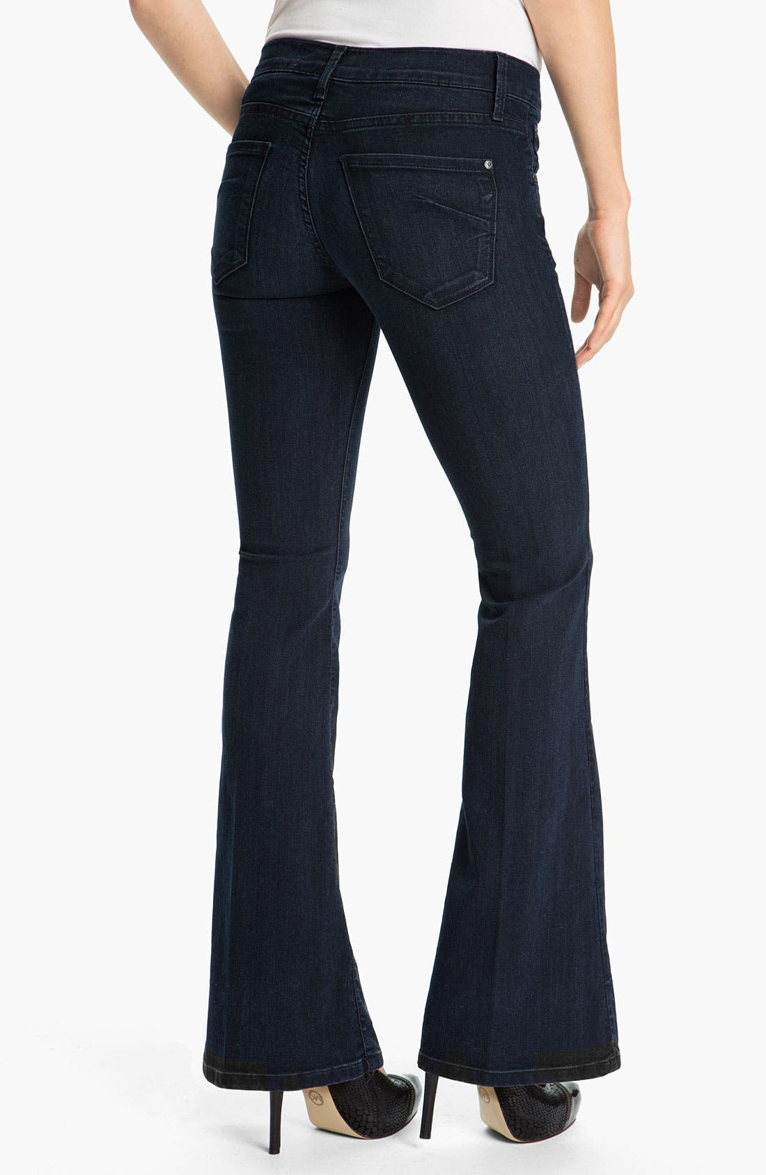 Alternate Image 2  - James Jeans 'Ultra Flare' Jeans (Amore) (Petite)