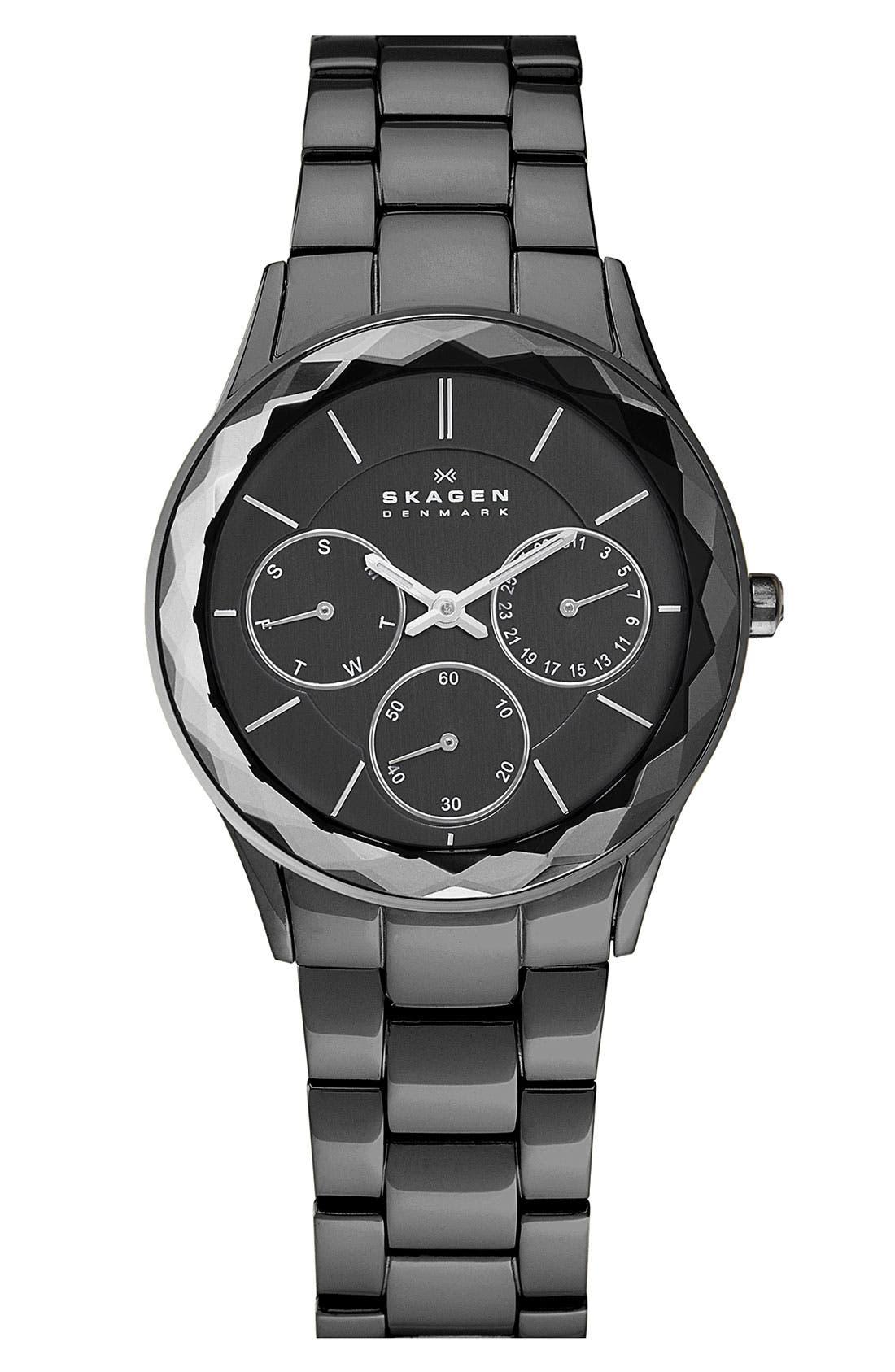 Main Image - Skagen Round Bracelet Watch