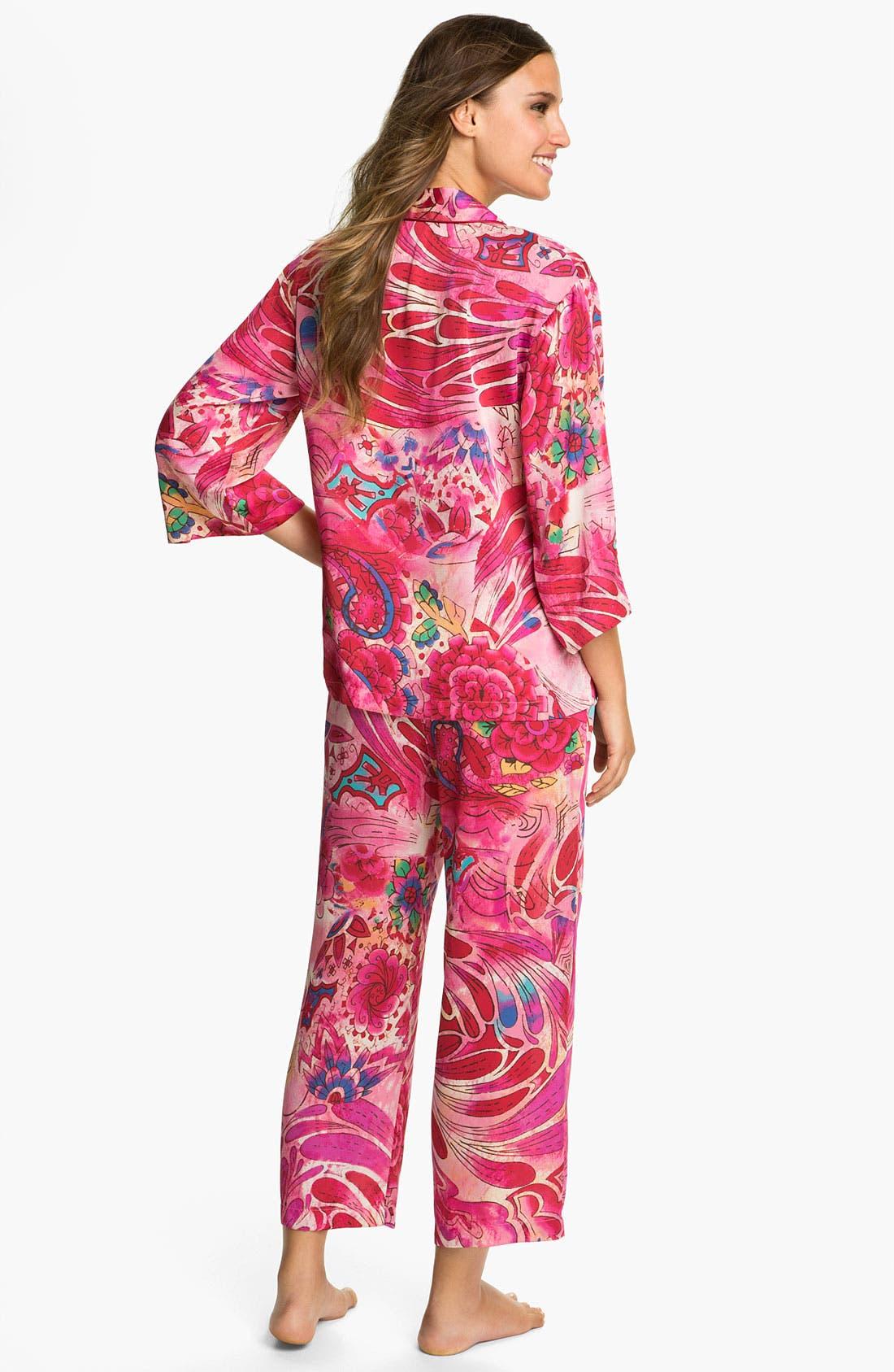 Alternate Image 2  - Natori 'Kubilai' Pajamas