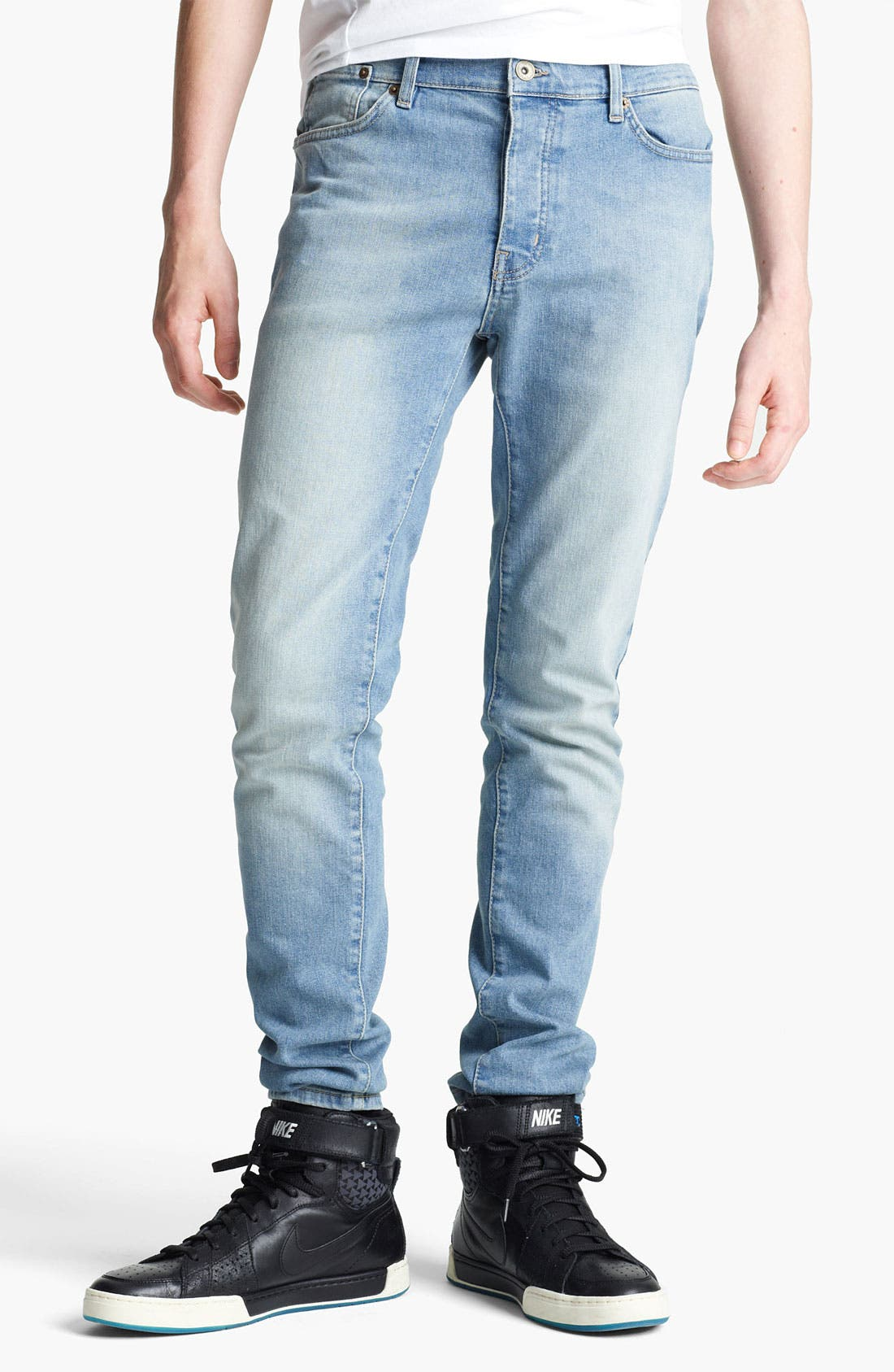 Main Image - Topman 'Lome' Skinny Jeans (Light)