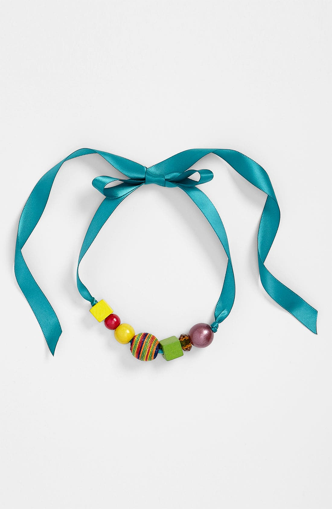 Alternate Image 1 Selected - Aidah Jewelry 'Traveling Girl' Necklace (Girls)