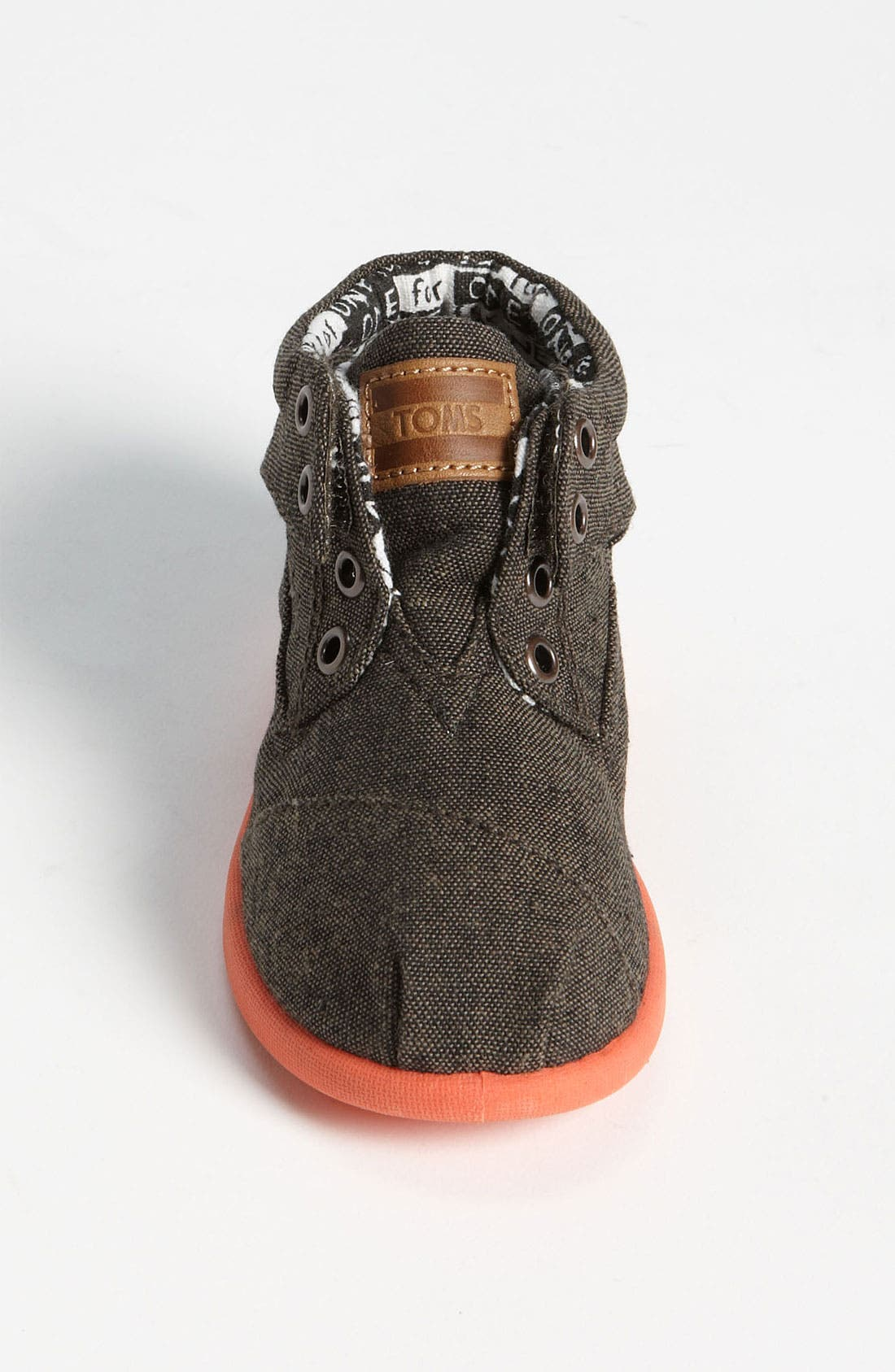 Alternate Image 3  - TOMS 'Botas - Tiny' Chambray Boot (Baby, Walker & Toddler)