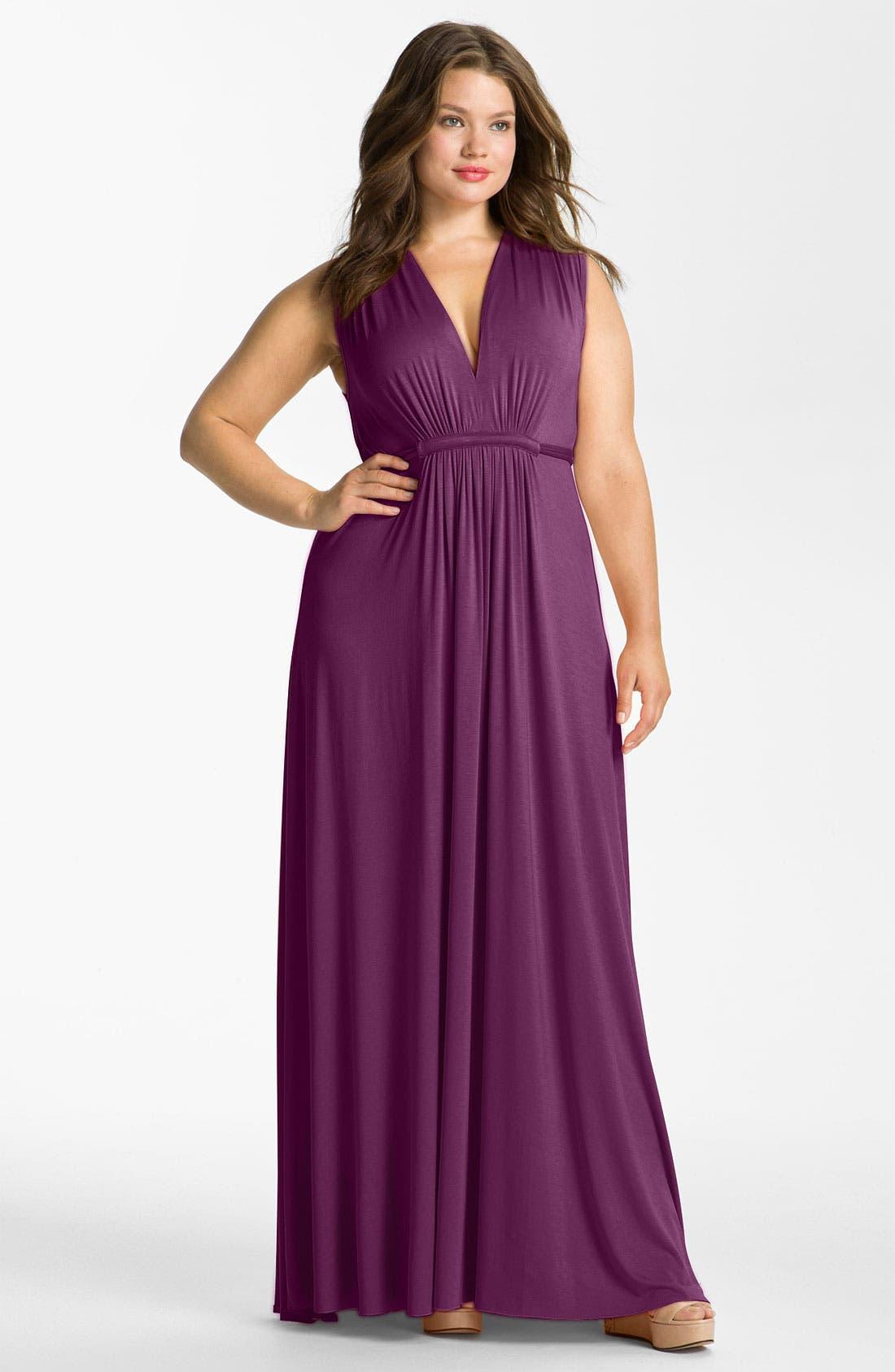 Alternate Image 1 Selected - Rachel Pally Sleeveless Caftan Dress (Plus)