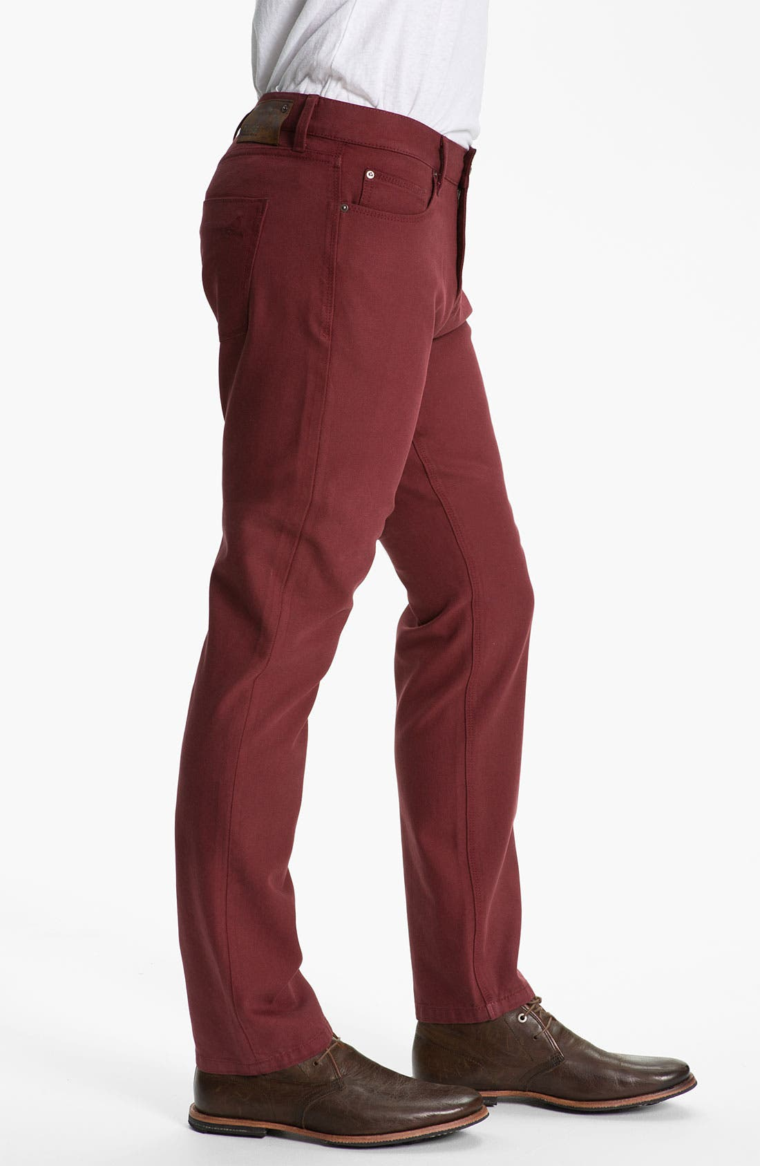 Alternate Image 3  - DL1961 'Russell' Slim Straight Jeans (Firebird)