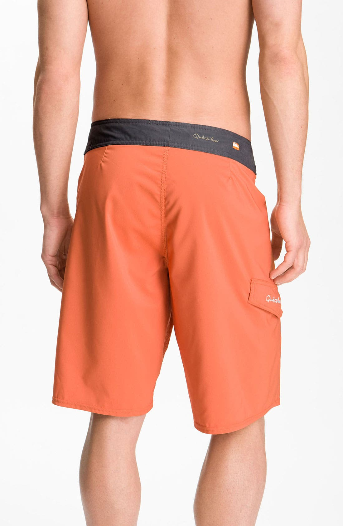 Alternate Image 2  - Quiksilver Waterman 'Indo' Diamond Dobby™ Board Shorts