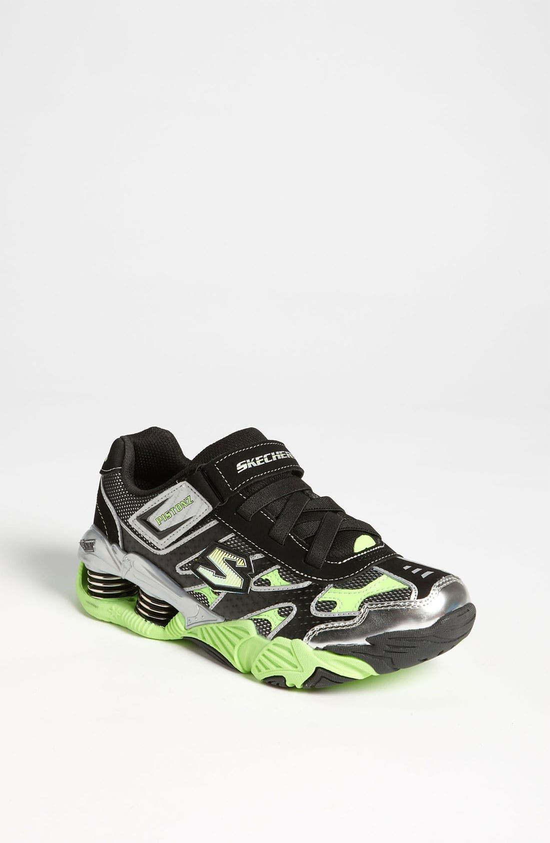 Alternate Image 1 Selected - SKECHERS 'Pistonz' Sneaker (Toddler, Little Kid & Big Kid)