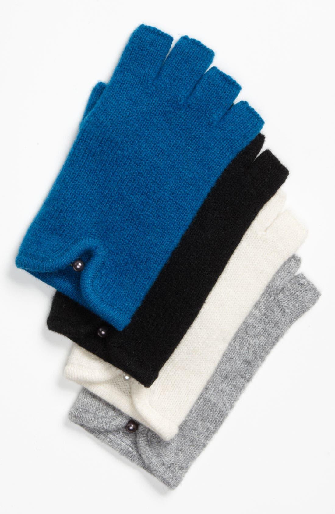Main Image - Laundry by Shelli Segal Fingerless Wool Gloves
