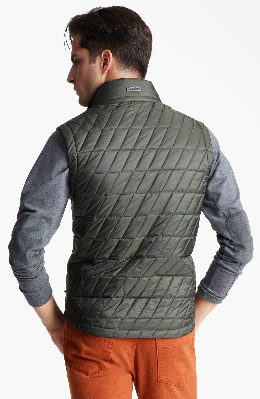 Alternate Image 2  - Zegna Sport 'Eco-Warmer' Quilted Thermal Vest